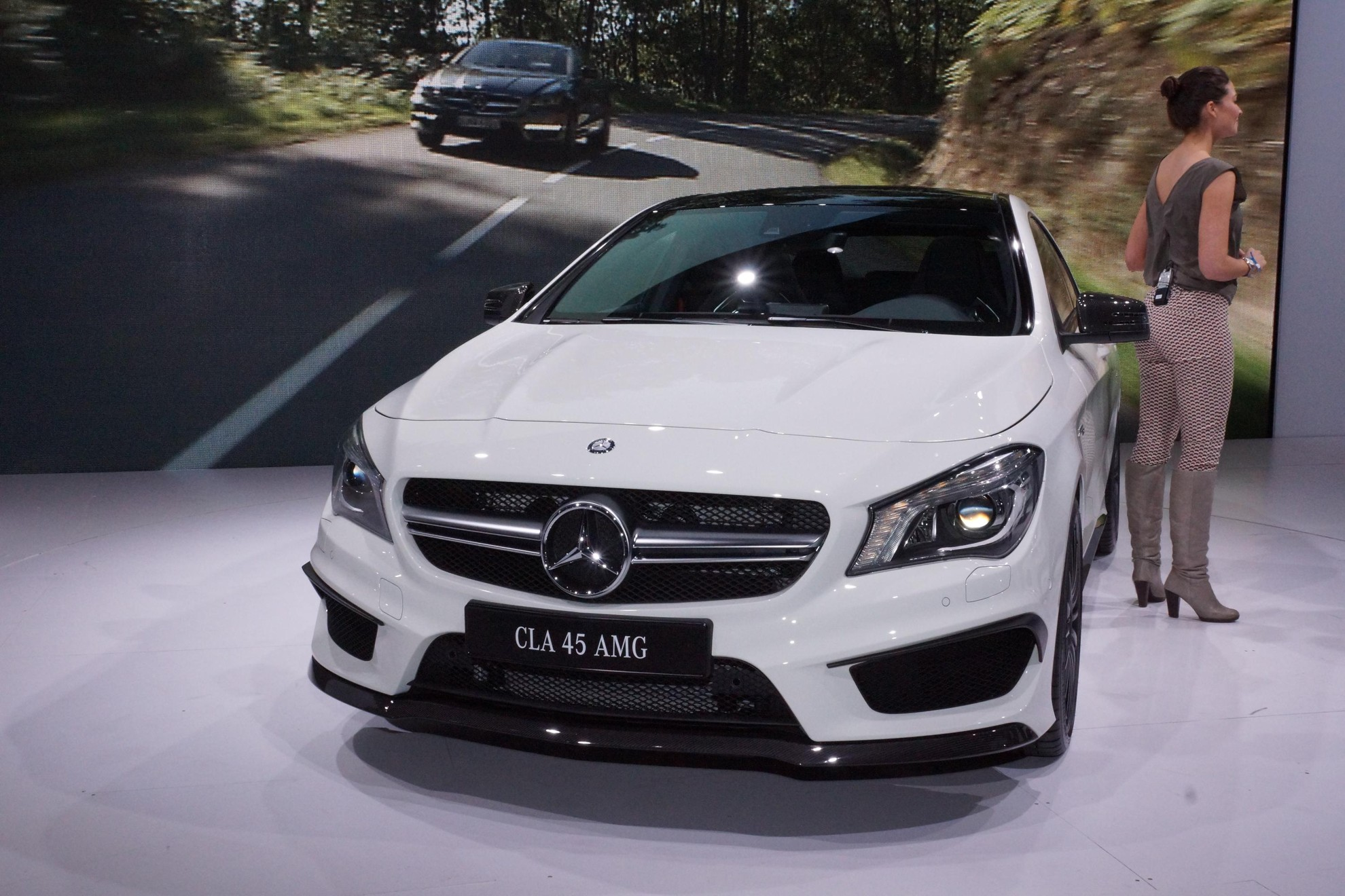 Images mercedes benz cla 45 amg new york auto show 2013 for What is the newest mercedes benz