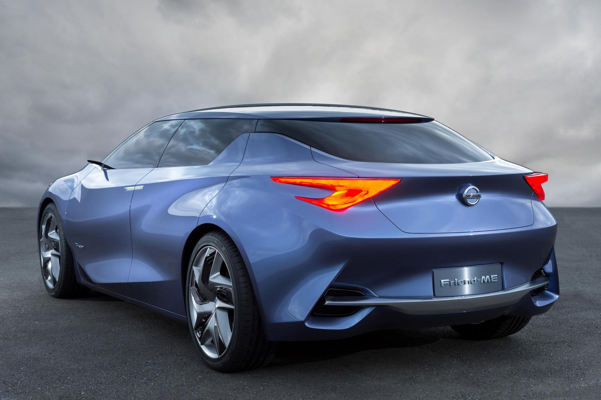Images: Nissan Friend-Me Concept Car 2013