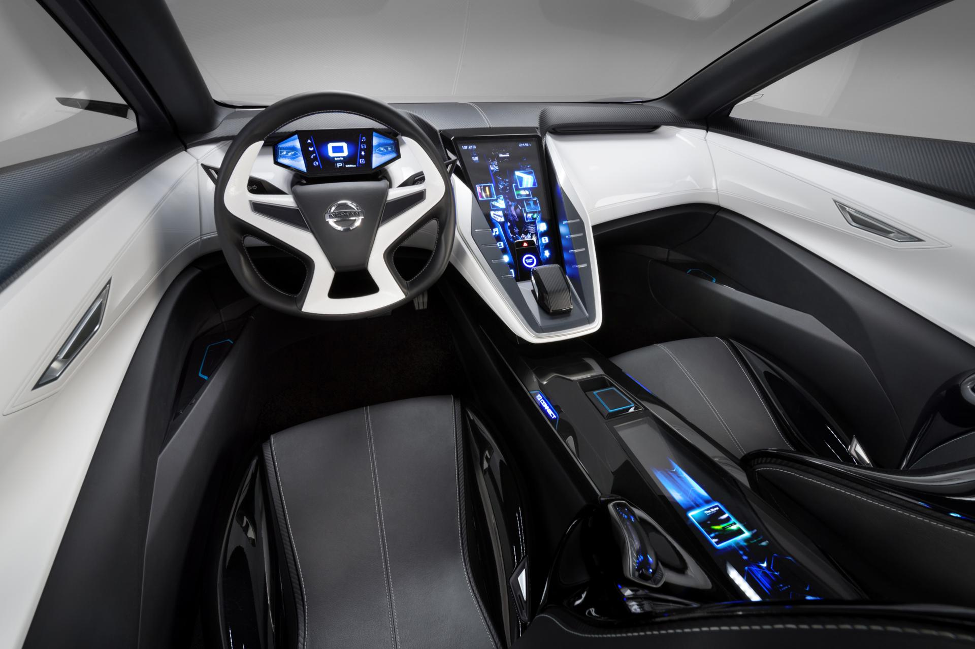 Interior of the Nissan Friend Me Concept Car