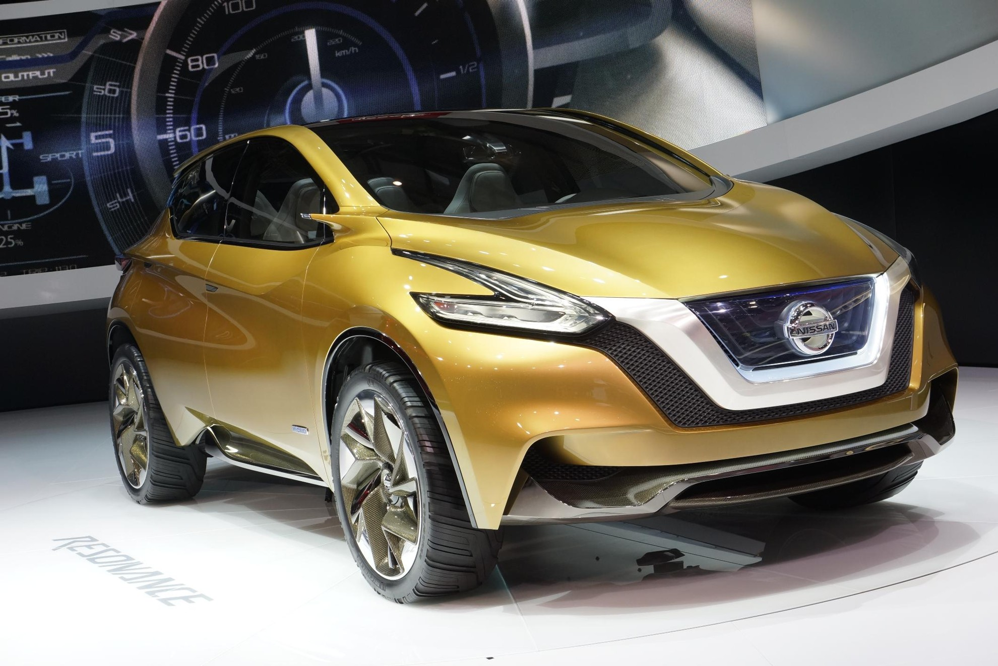 Nissan Resonance 2013 Geneva Motor Show