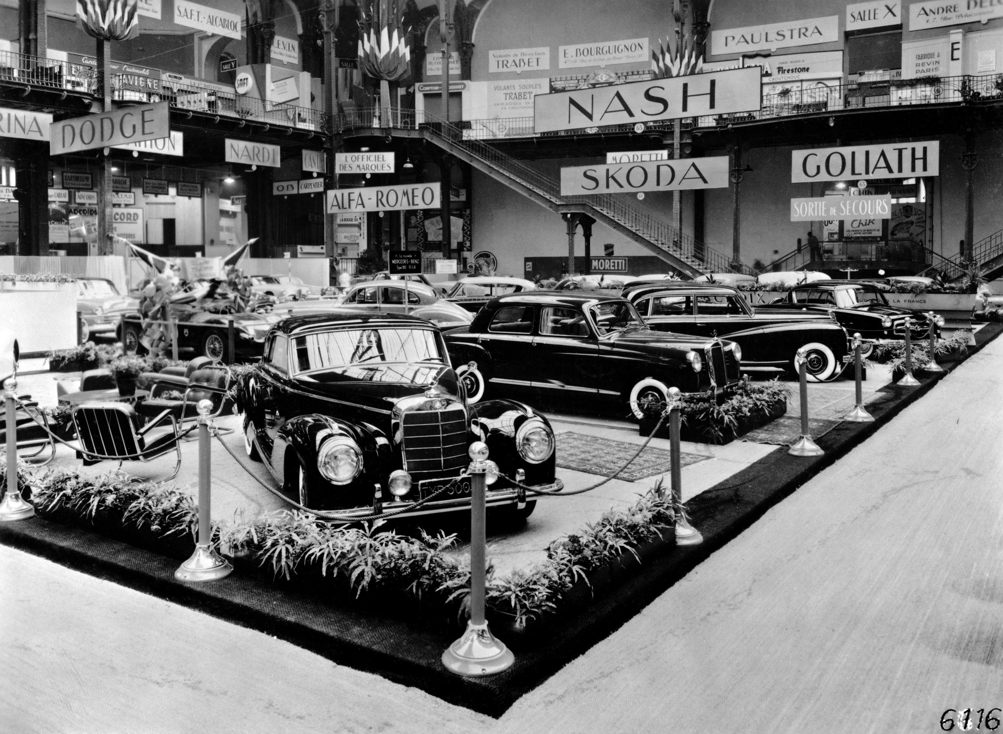 In 1902 The Paris Motor Show Becomes The Mercedes Show
