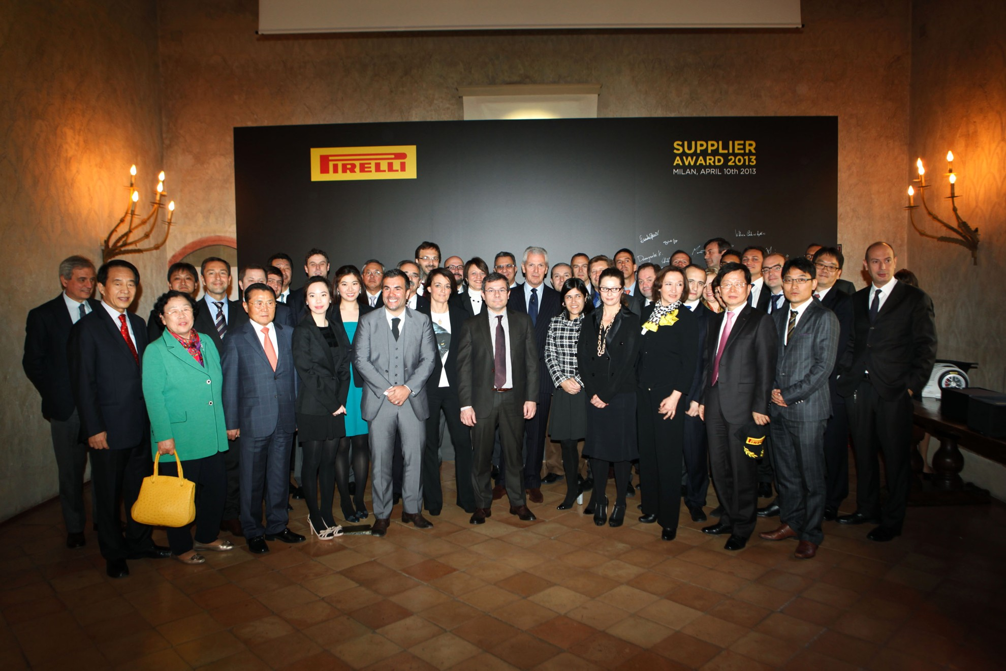 Pirelli Tyre Supplier Awards 2013