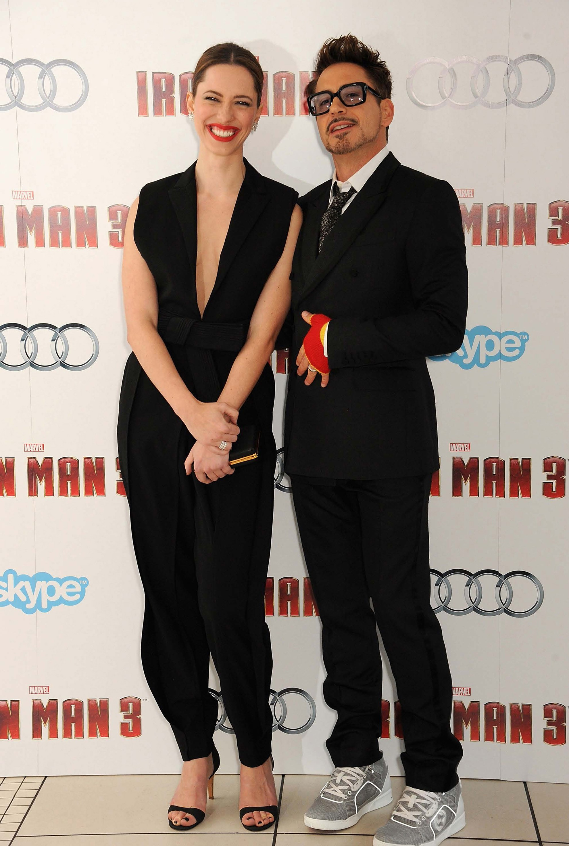 Rebecca Hall and Robert Downey Jr