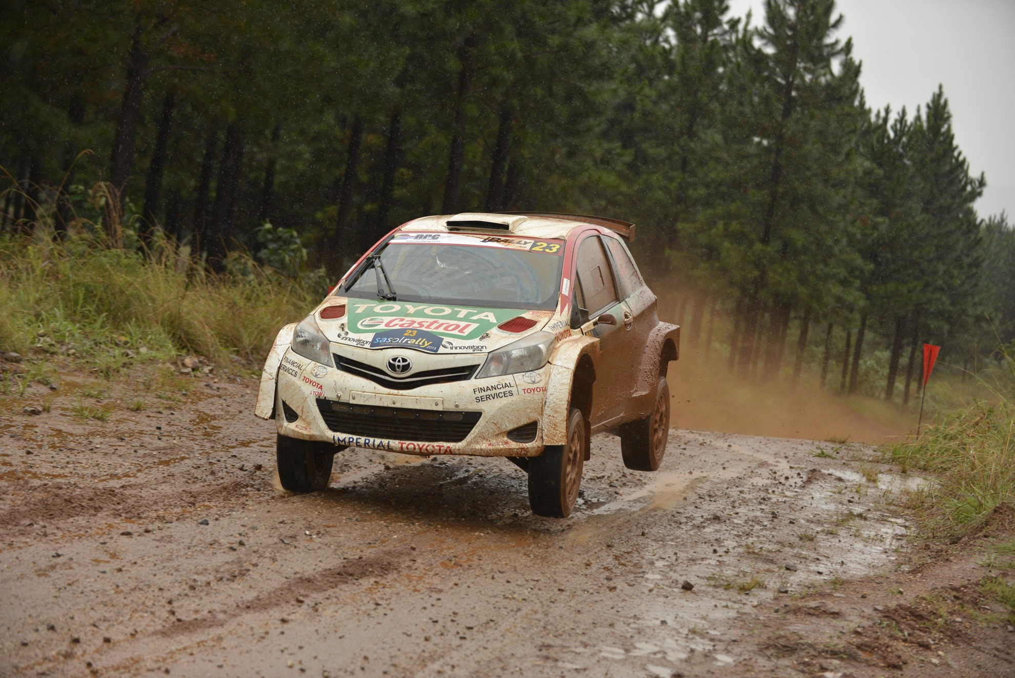 Toyota Rally Racing