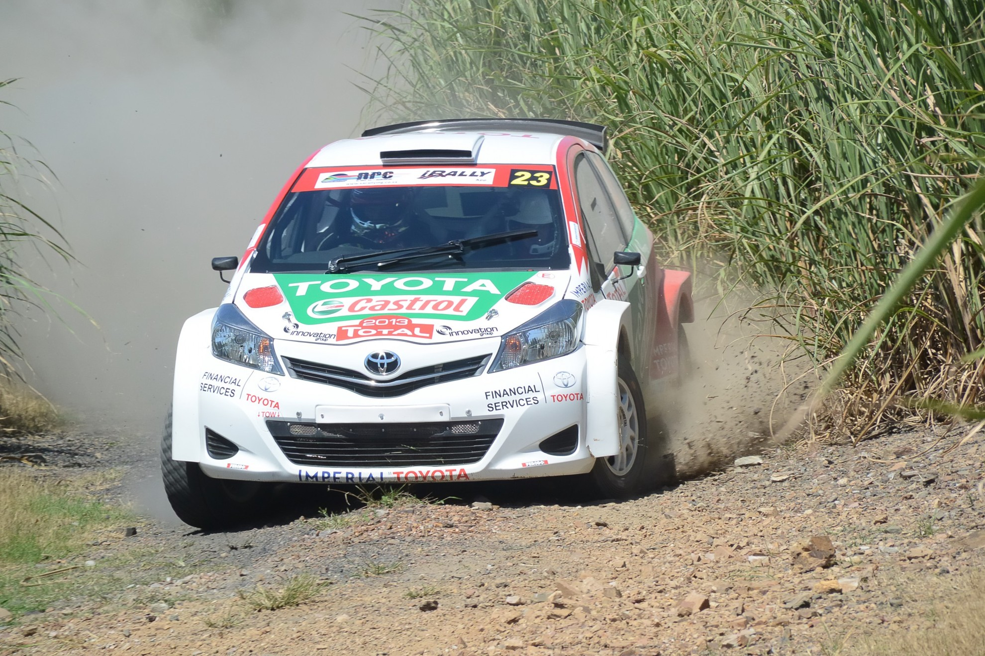 Toyota Motorsport Tackles Sasol Rally With All New Yaris