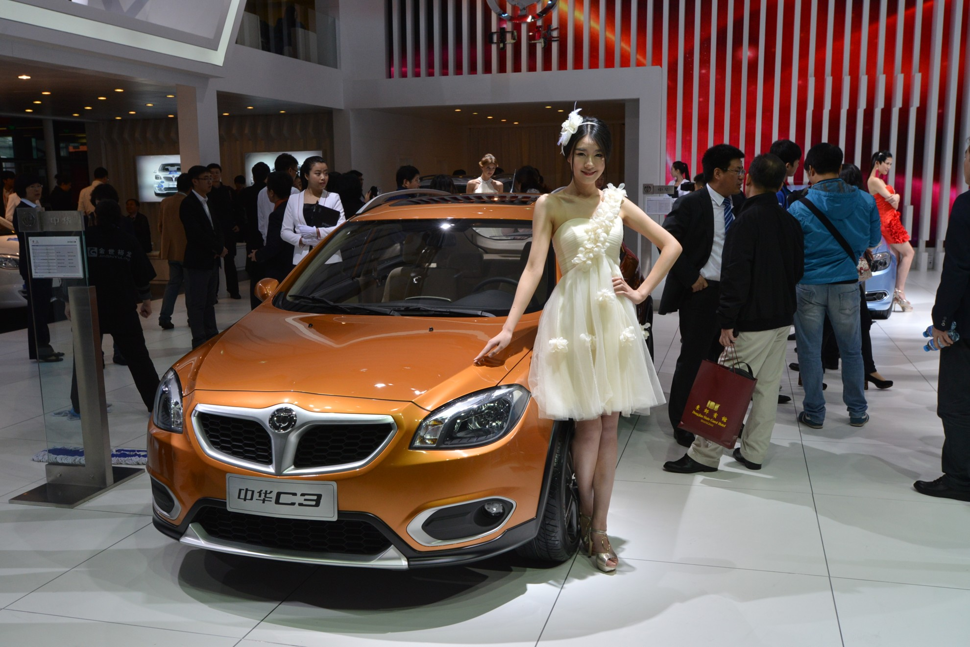 Car Show Girls 2013 - Beijing Auto Show