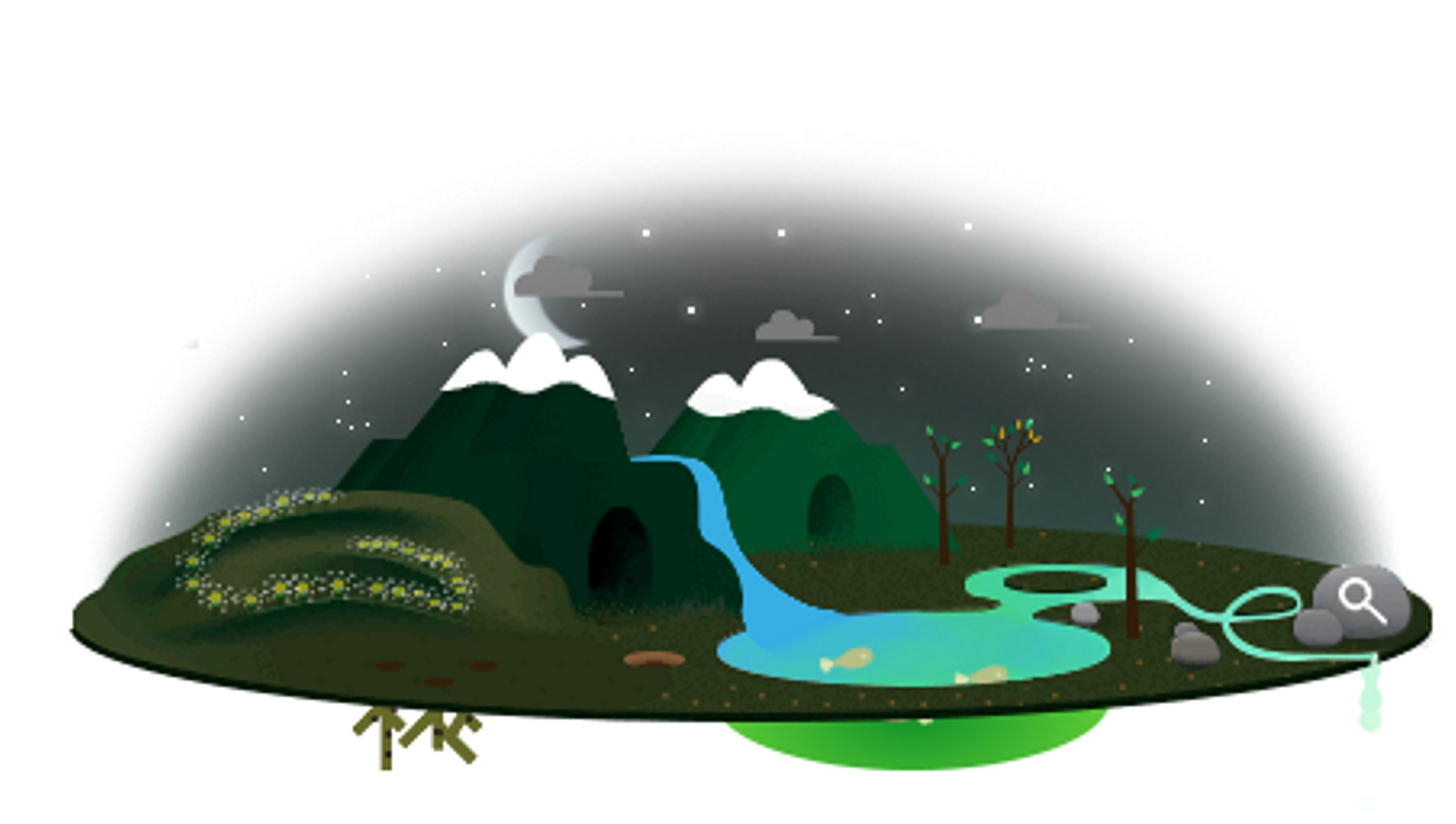 Earth Day 2013 Google Doodle