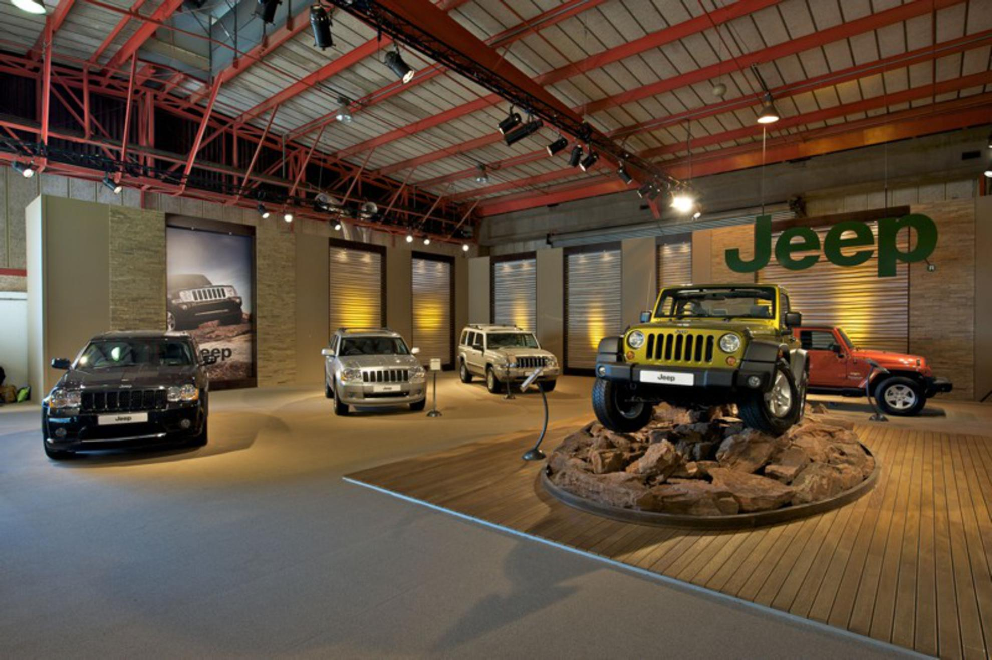 Jeep Stand at the Johannesburg Motor Show