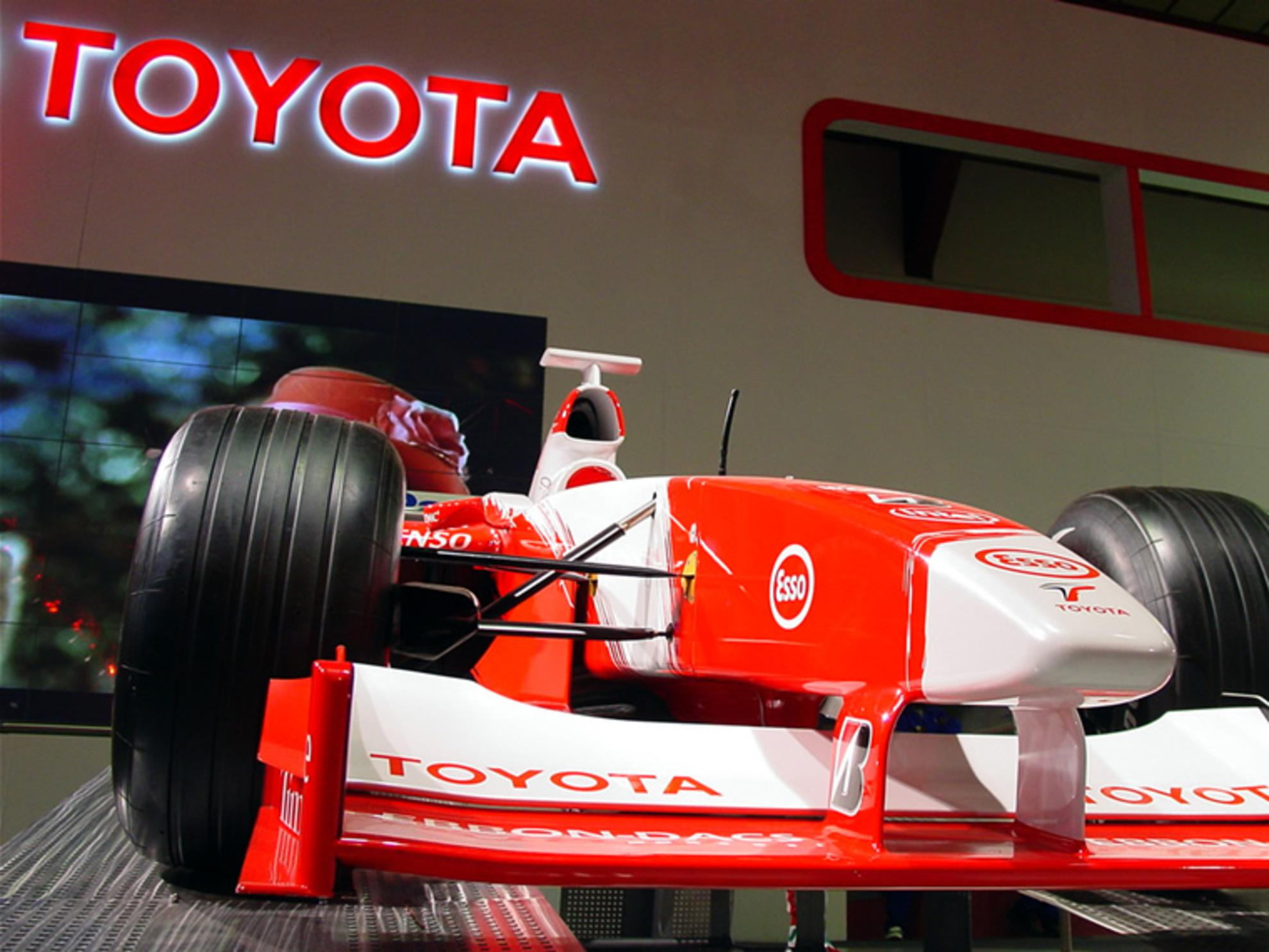 Toyota Formula 1 Racing Car