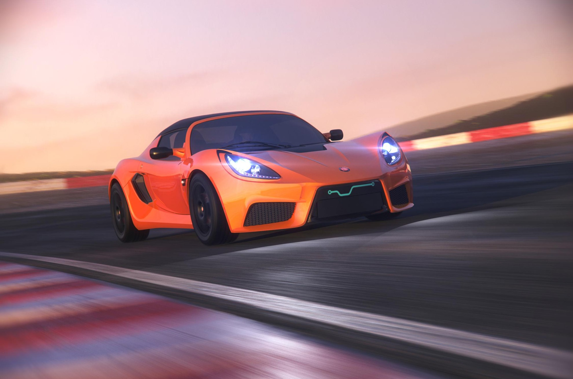 The worlds fastest electric car - World Fastest Electrical Vehicle Detroit Electric S
