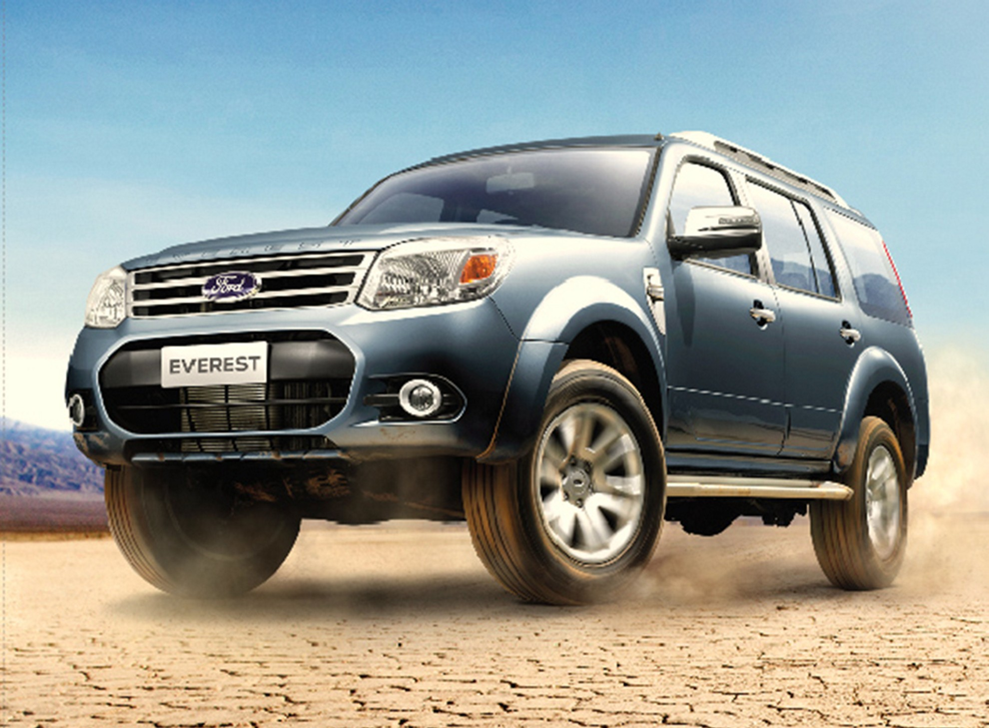 Ford everest refreshed and ready for adventure