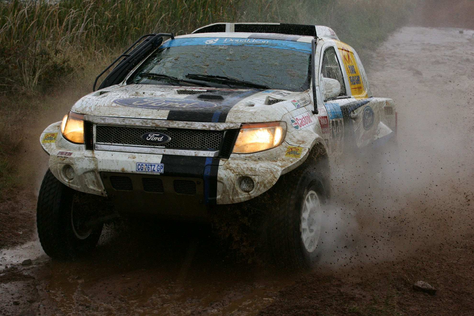Ford Ranger 2013 Racing