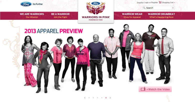 ford warriors in pink breast cancer survivors. Cars Review. Best American Auto & Cars Review