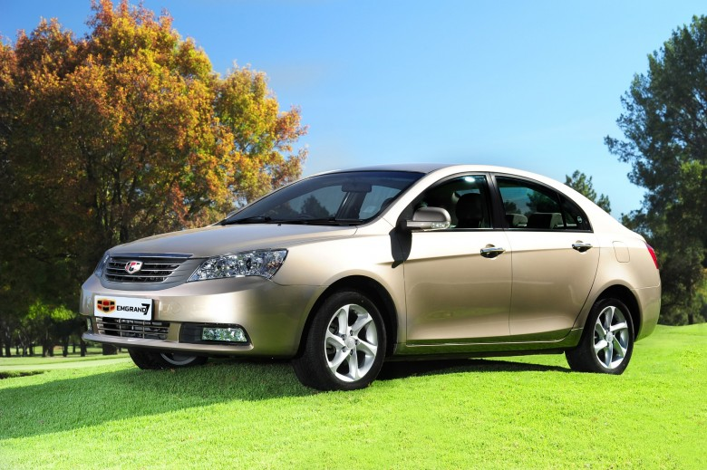 Geely Emgrand EC7 China