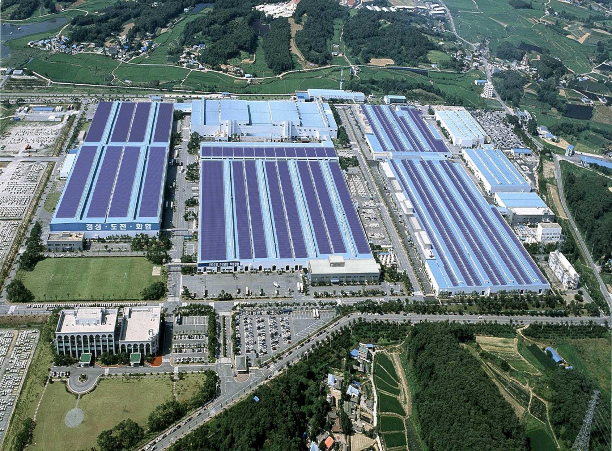 Hyundai Motor To Install South Korea S Largest Rooftop