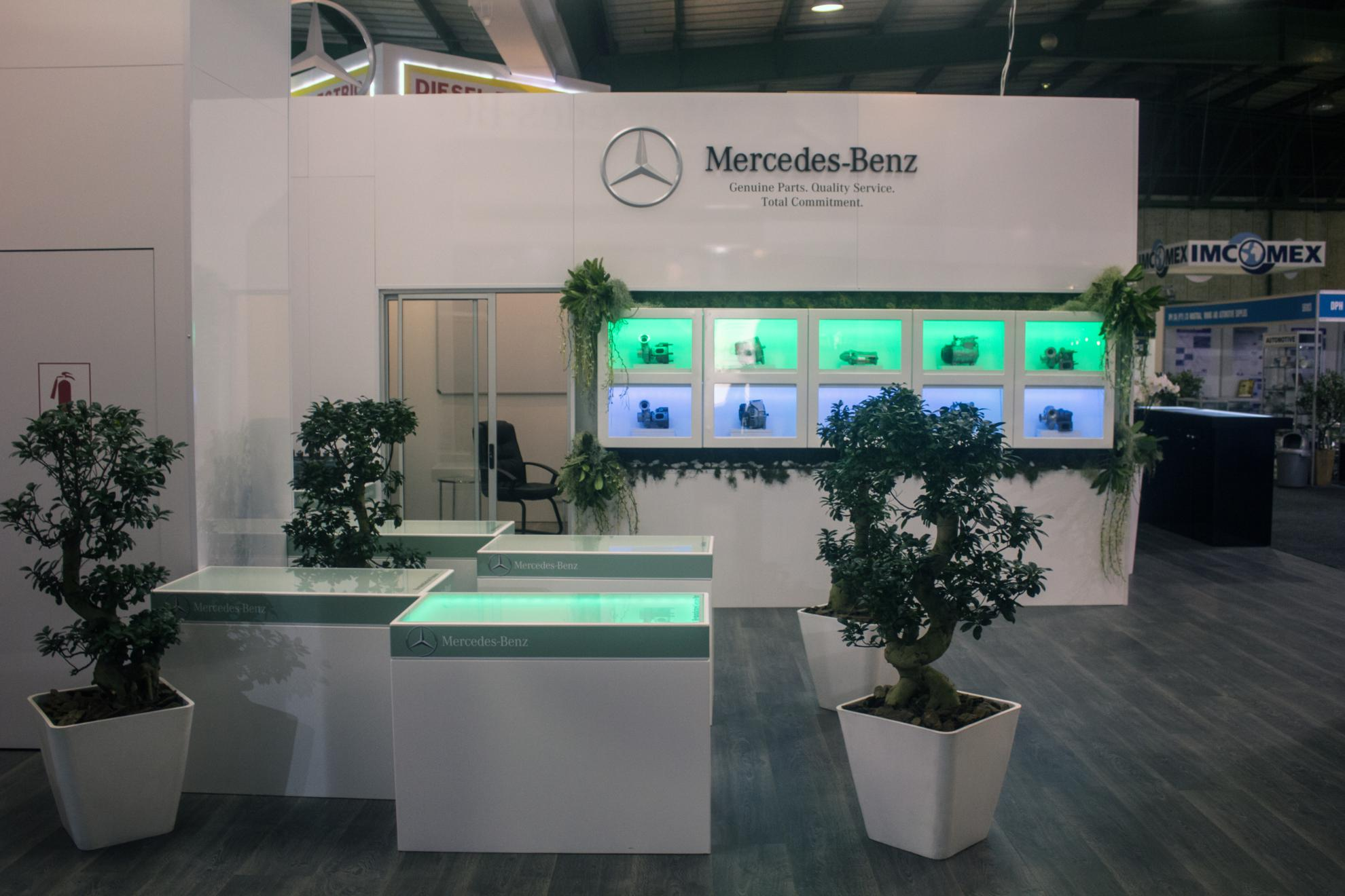 Mercedes-Benz Display at Automechanika