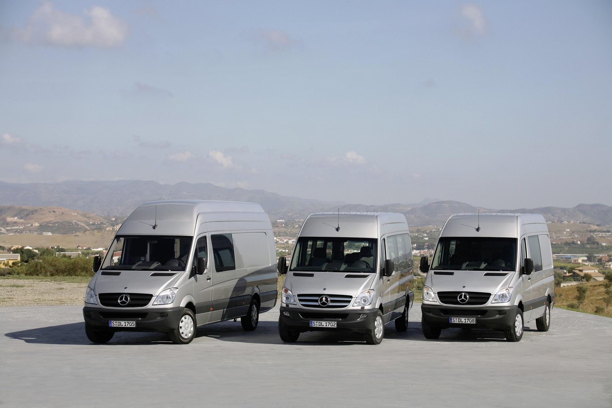 Mercedes-Benz Sprinter Success