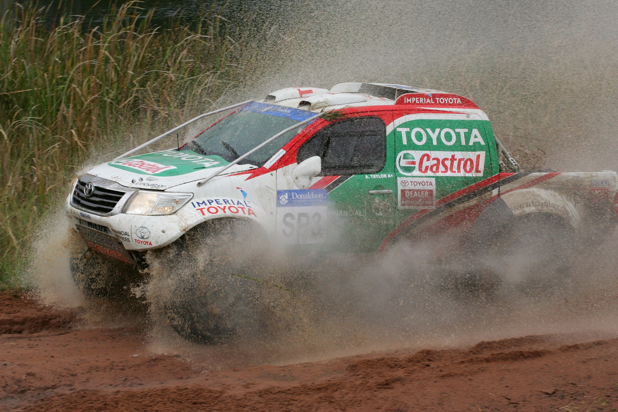 Racing Hilux Toyota