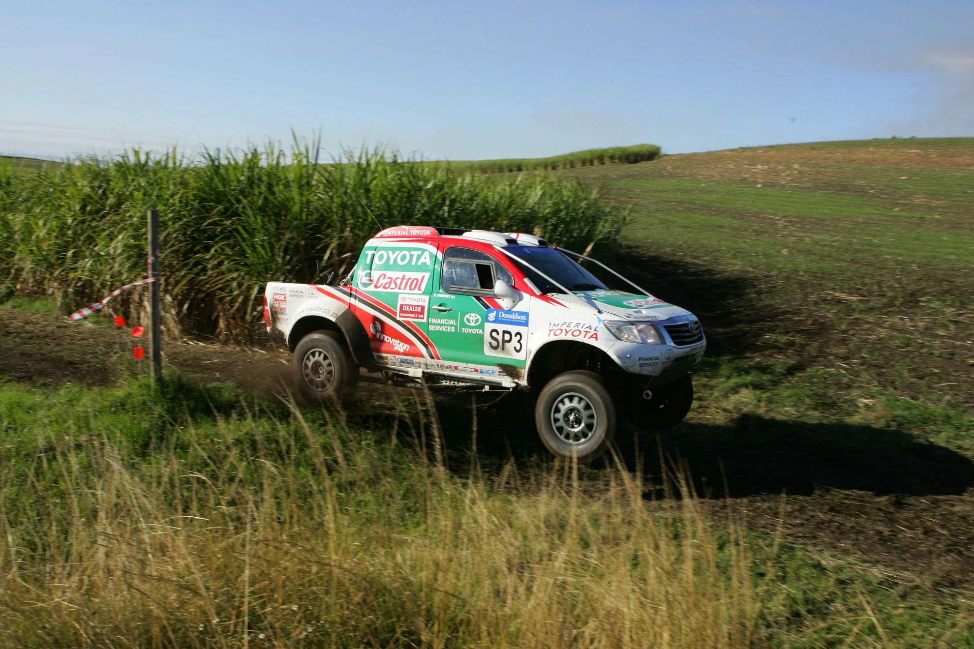 Rally Toyota Hilux