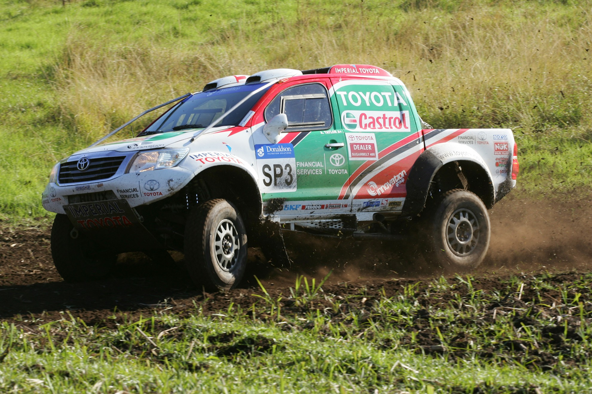 Toyota Hilux South Africa Rally