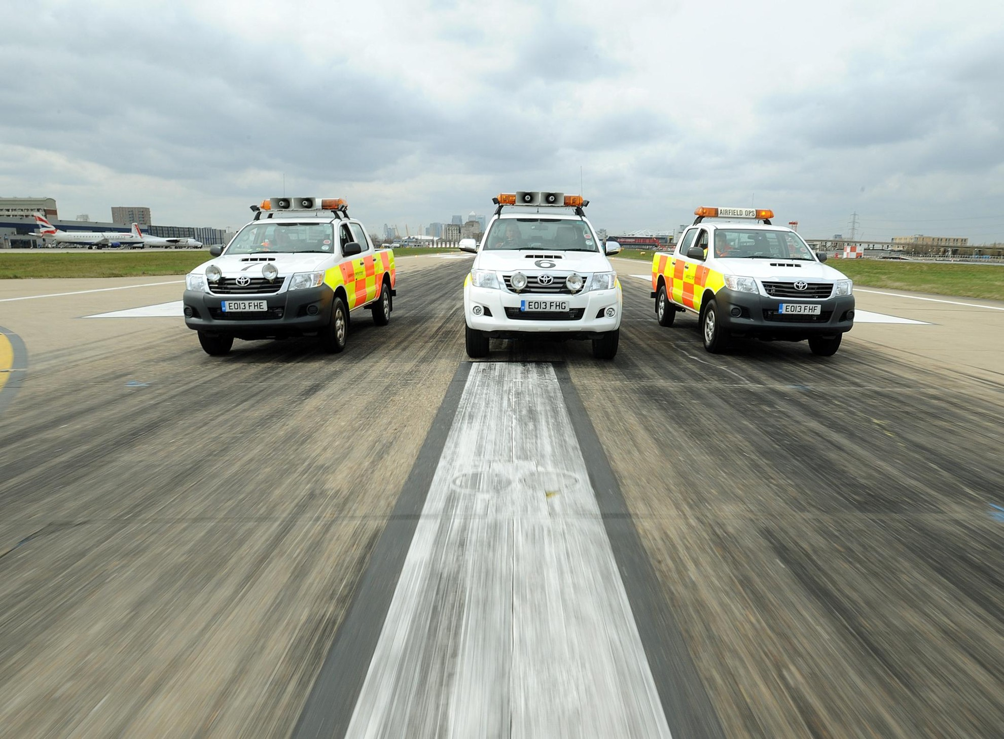 TOYOTA HILUX – LONDON CITY AIRPORT