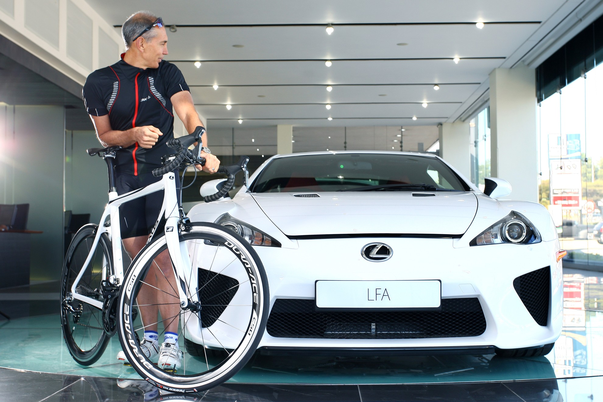 Lexus LFA Bicycle