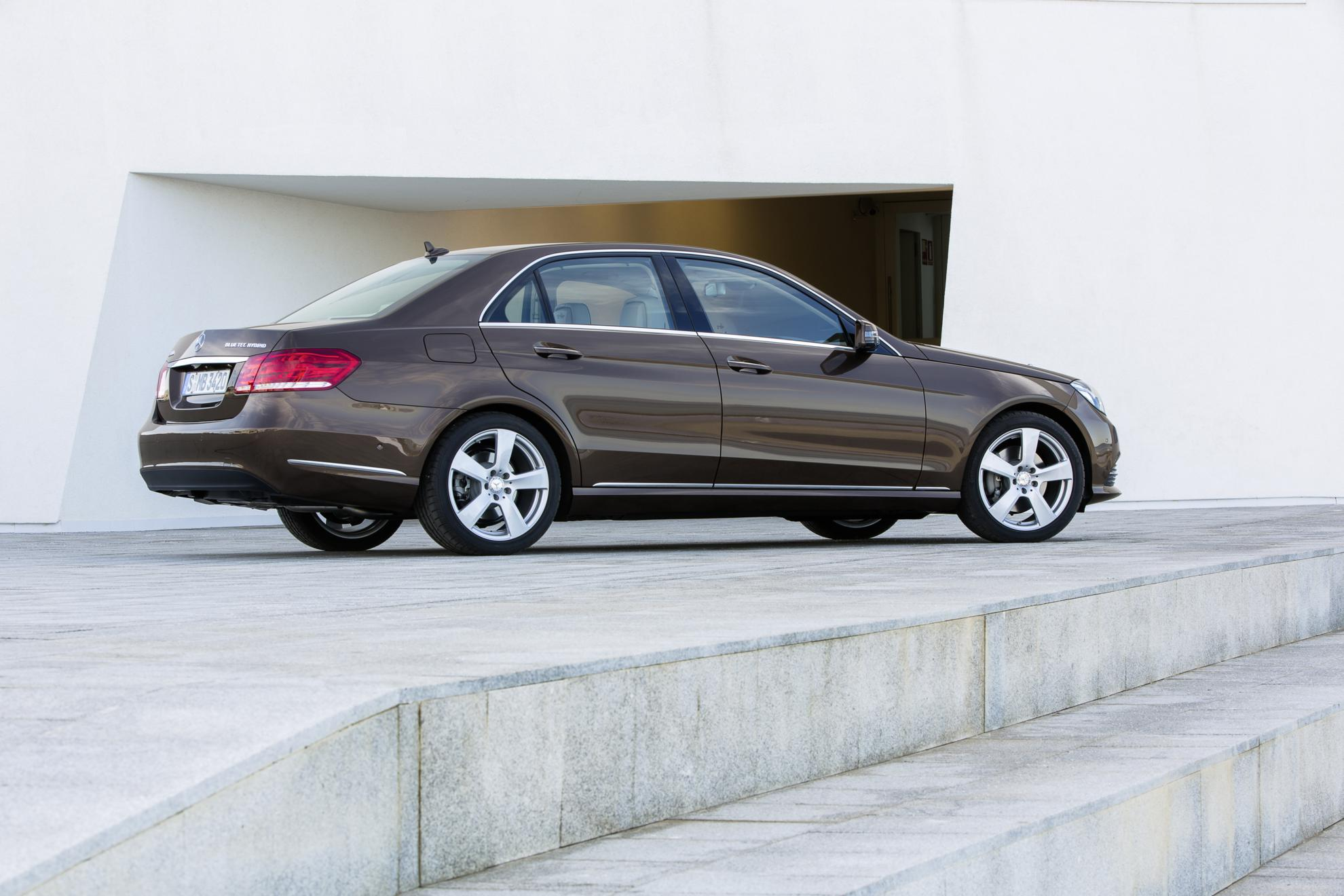 images of the new mercedes benz e class hybrid