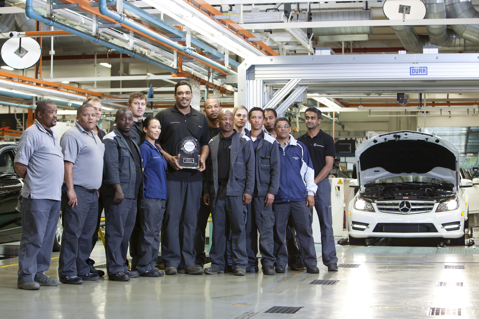 Mercedes benz south africa five fer consolidates top world for Mercedes benz manufacturing plant in usa