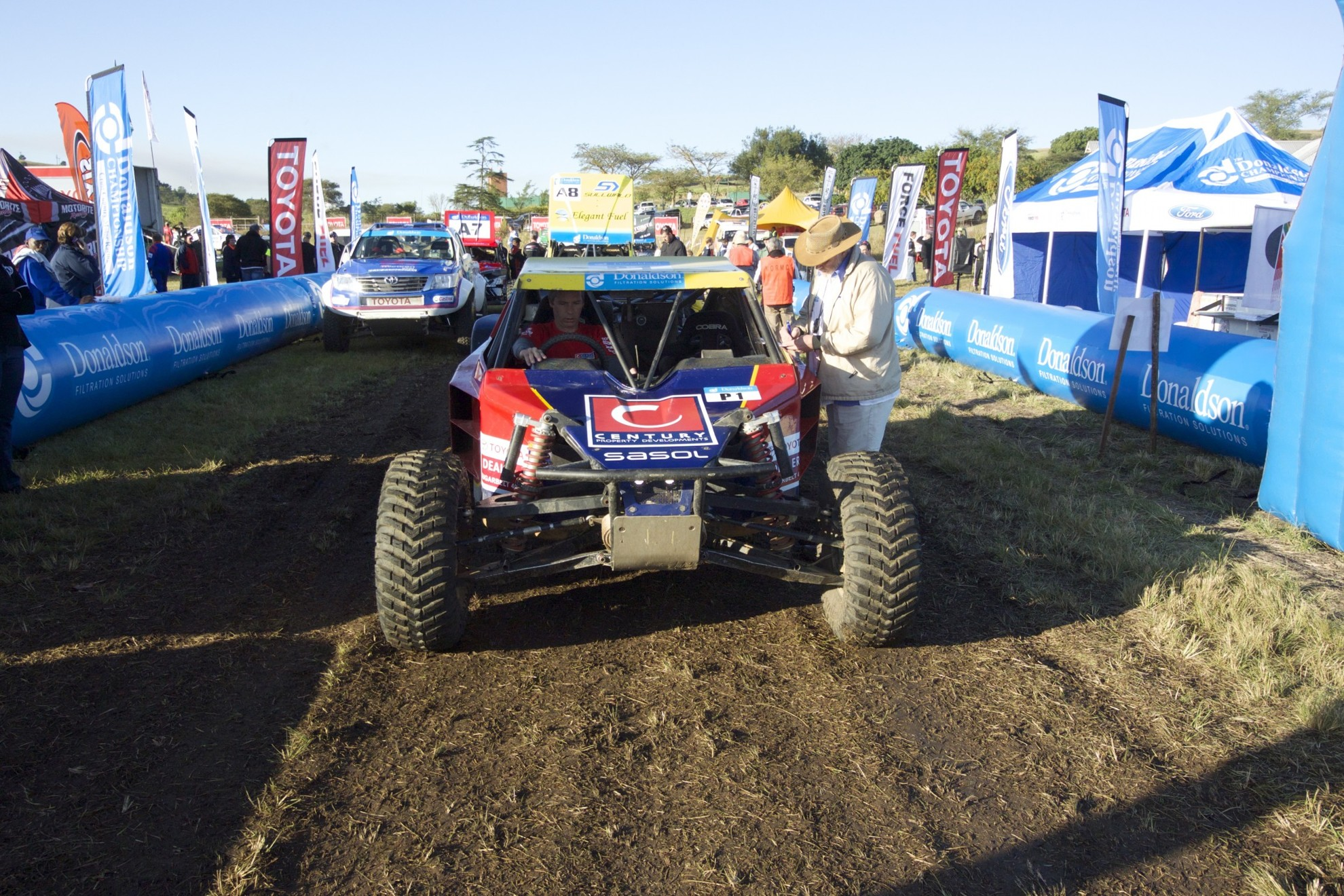 Matthews And Smith Win Special Vehicle Prologue On Toyota