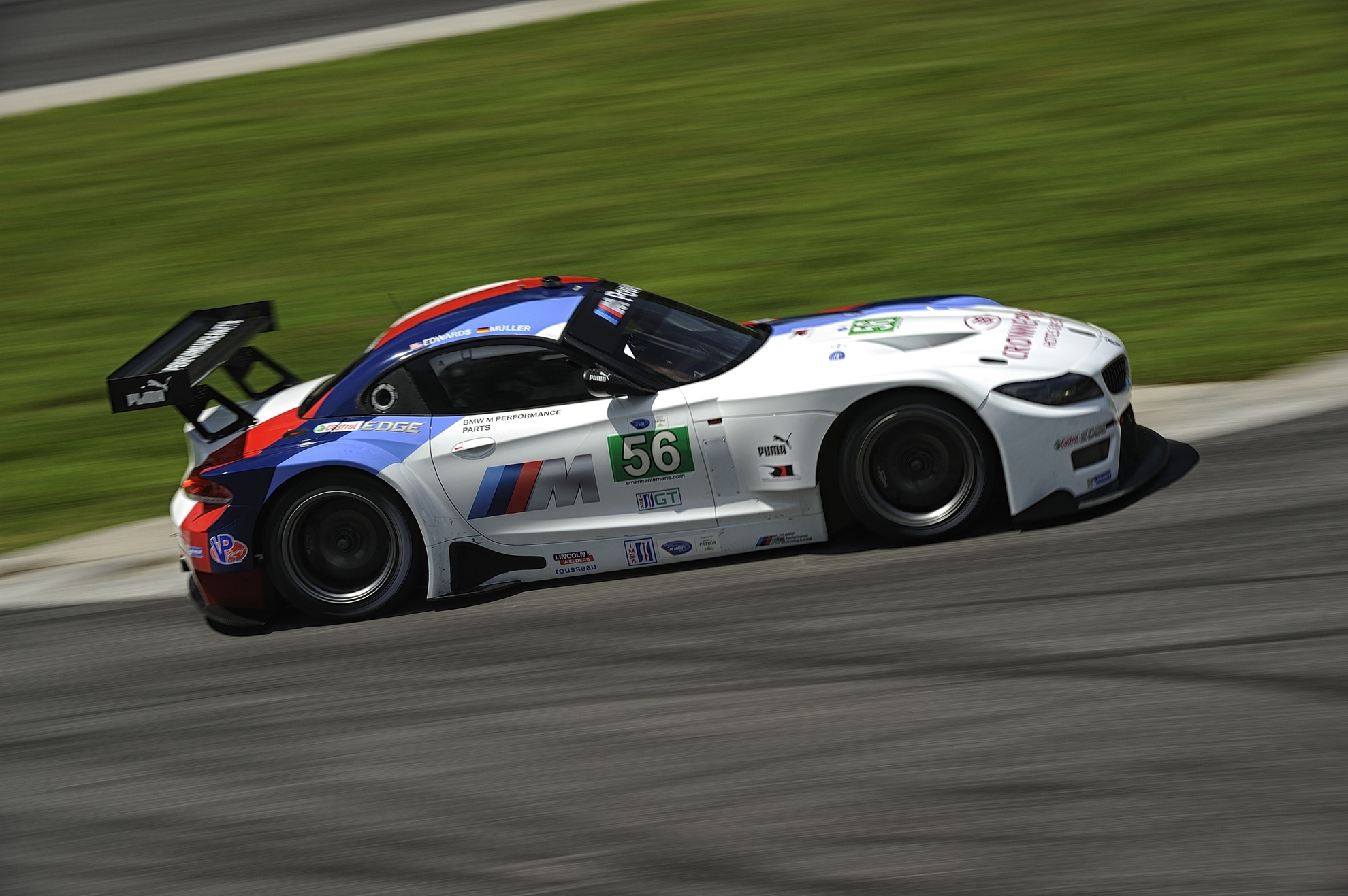 Bmw Team Rll Sweeps Northeast Grand Prix Gt Front Row John Edwards Drives To First Pole Of Bmw