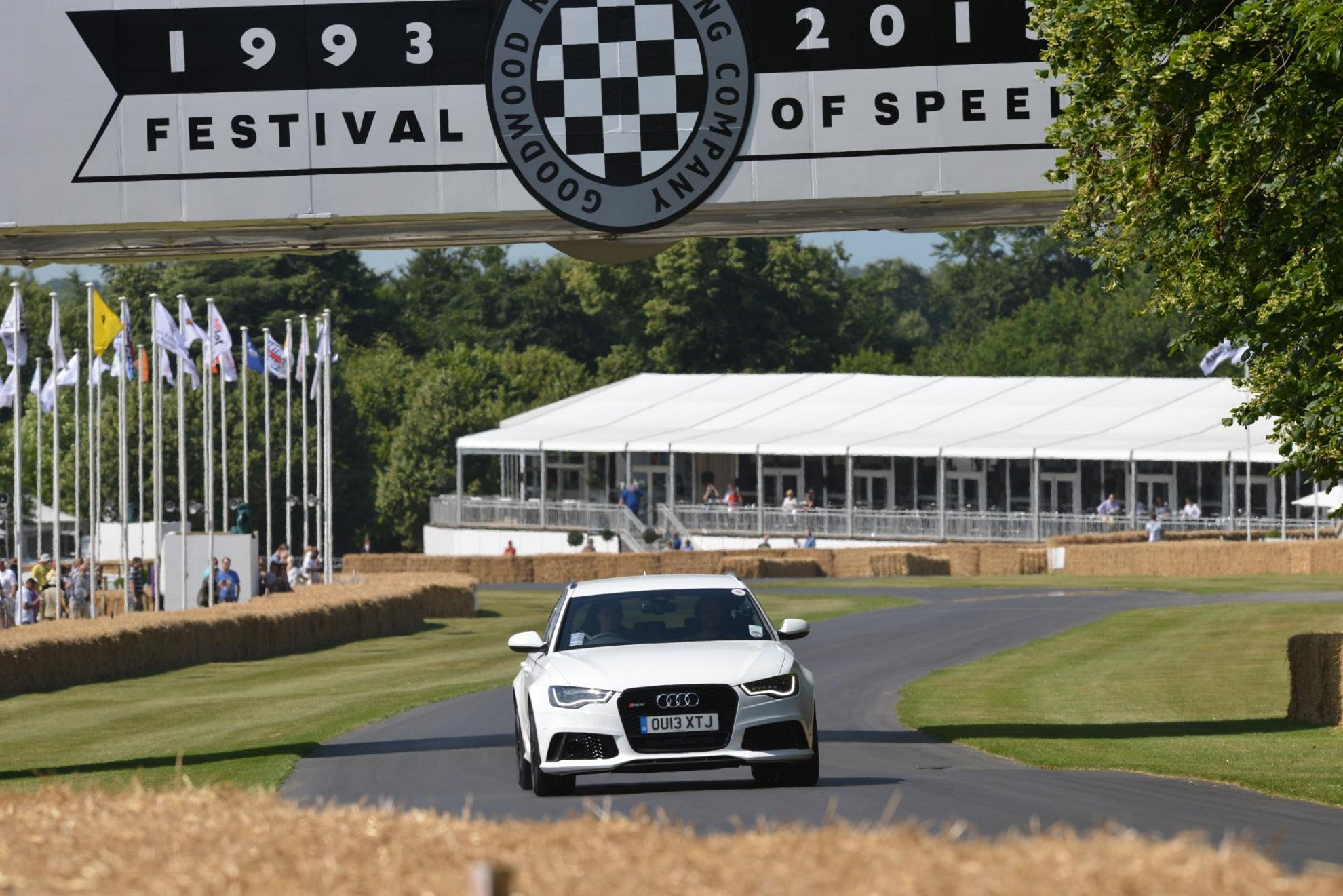 Audi at the Goodwood Festival of Speed 2013