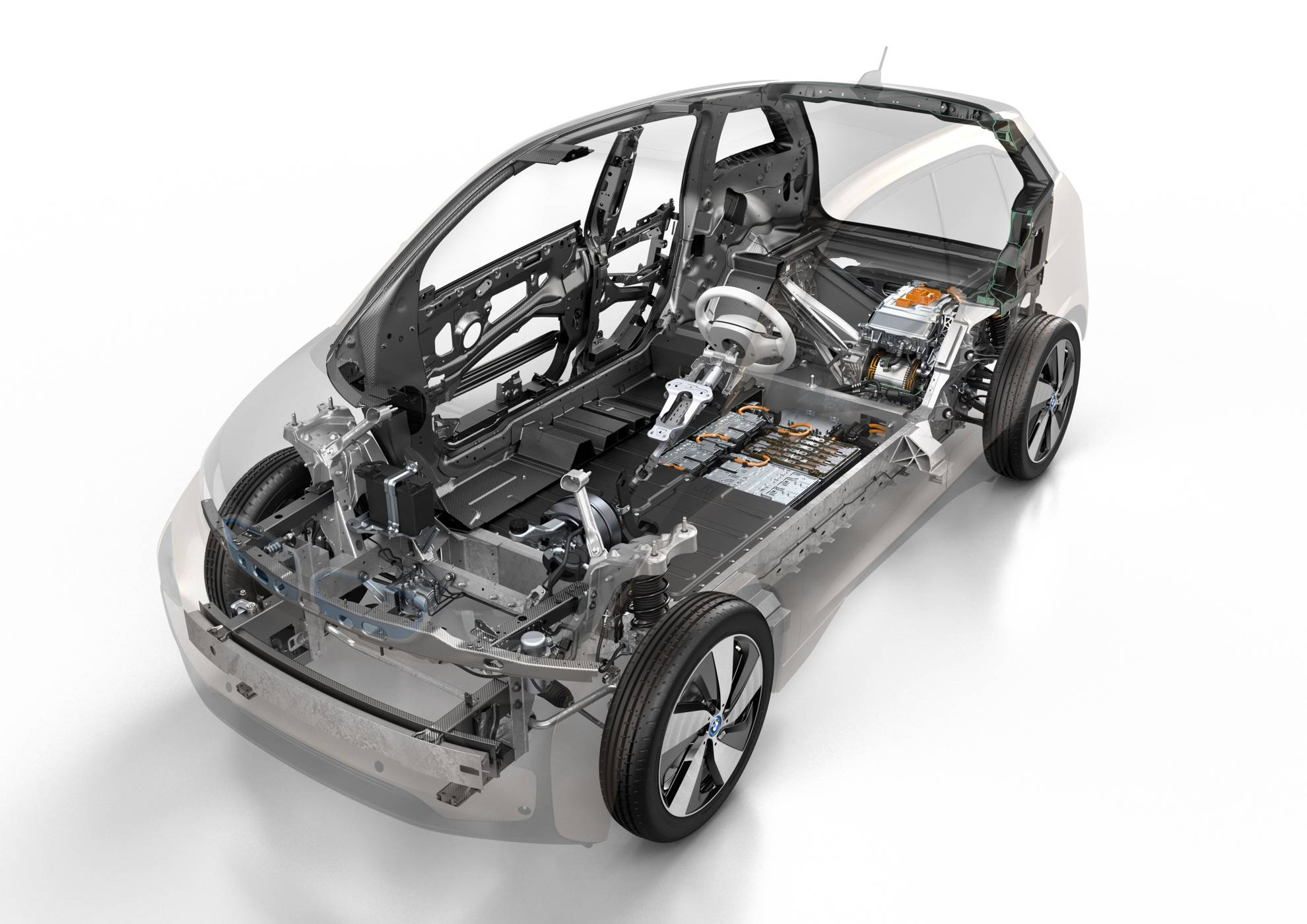 BMW I3 Engine