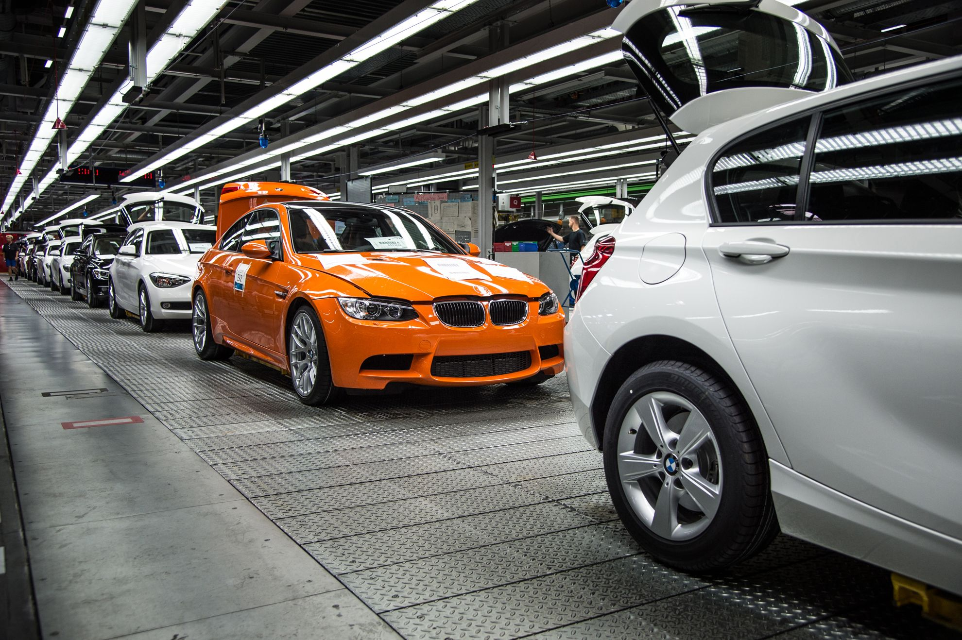 BMW end of production 2013