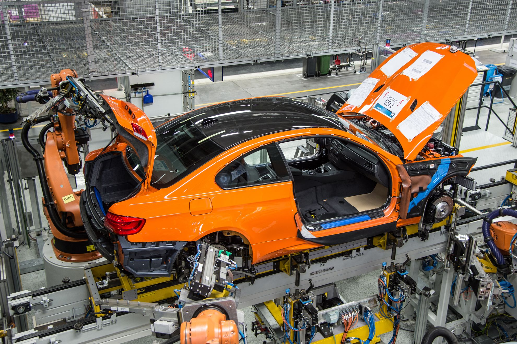 BMW end of production