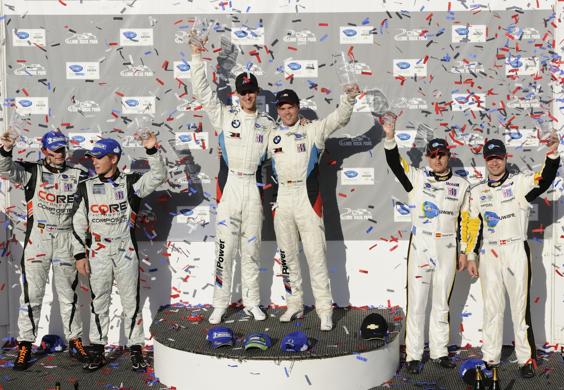 BMW ALMS GT Victory