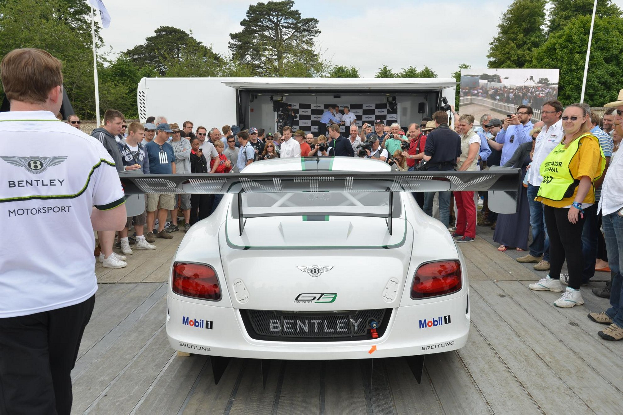 Bentley Continental GT3 Festivalofspeed