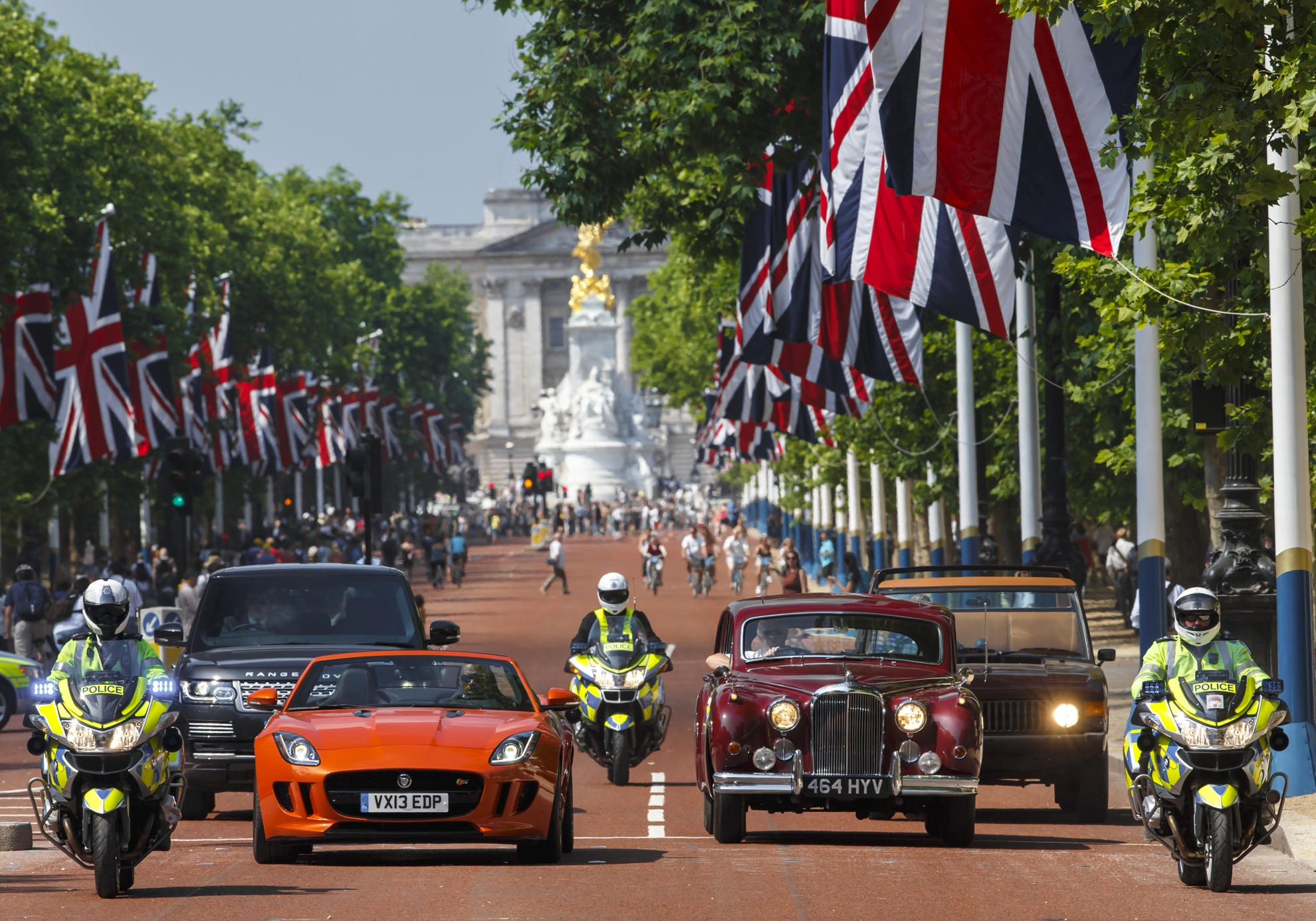 Jaguar Land Rover Celebrate The Coronation Festival With A