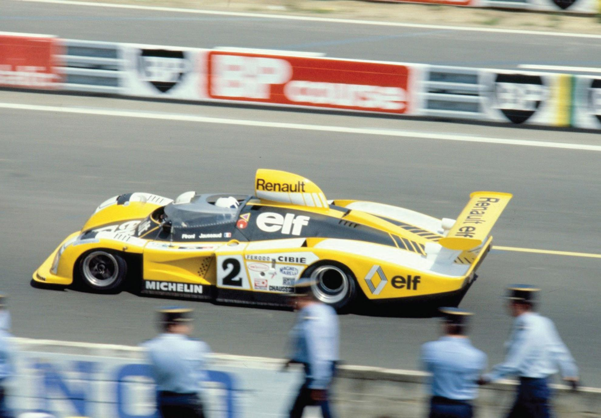 Alpine A442B Le Mans car