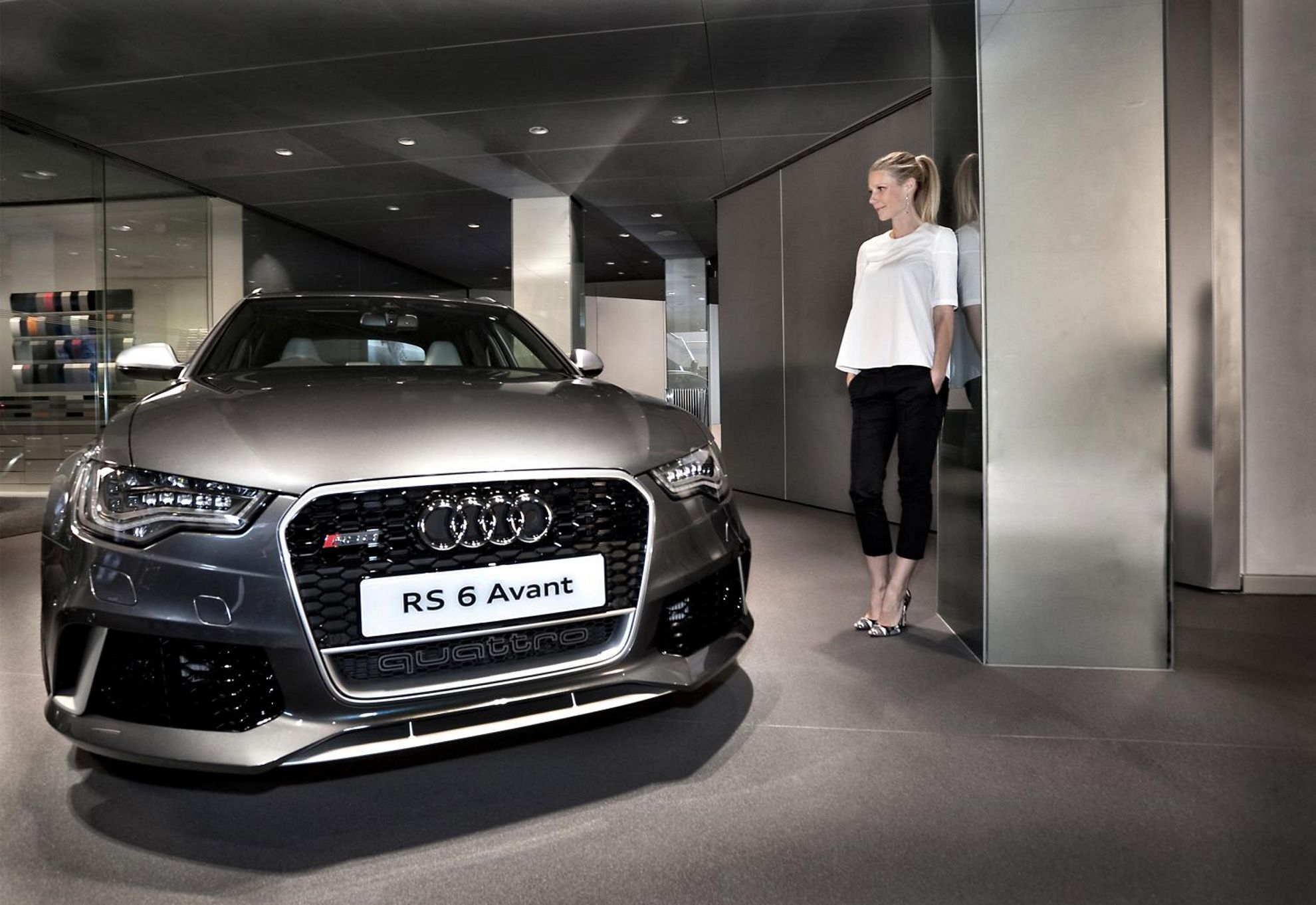 Gwyneth Paltrow Audi RS 6
