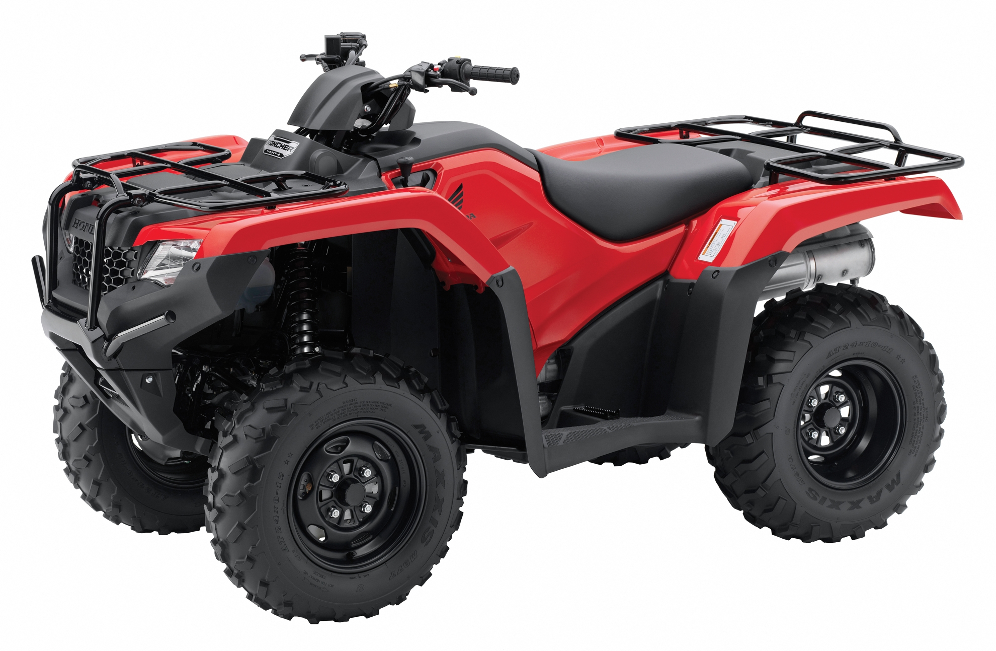 Honda Rancher 4x4 Red