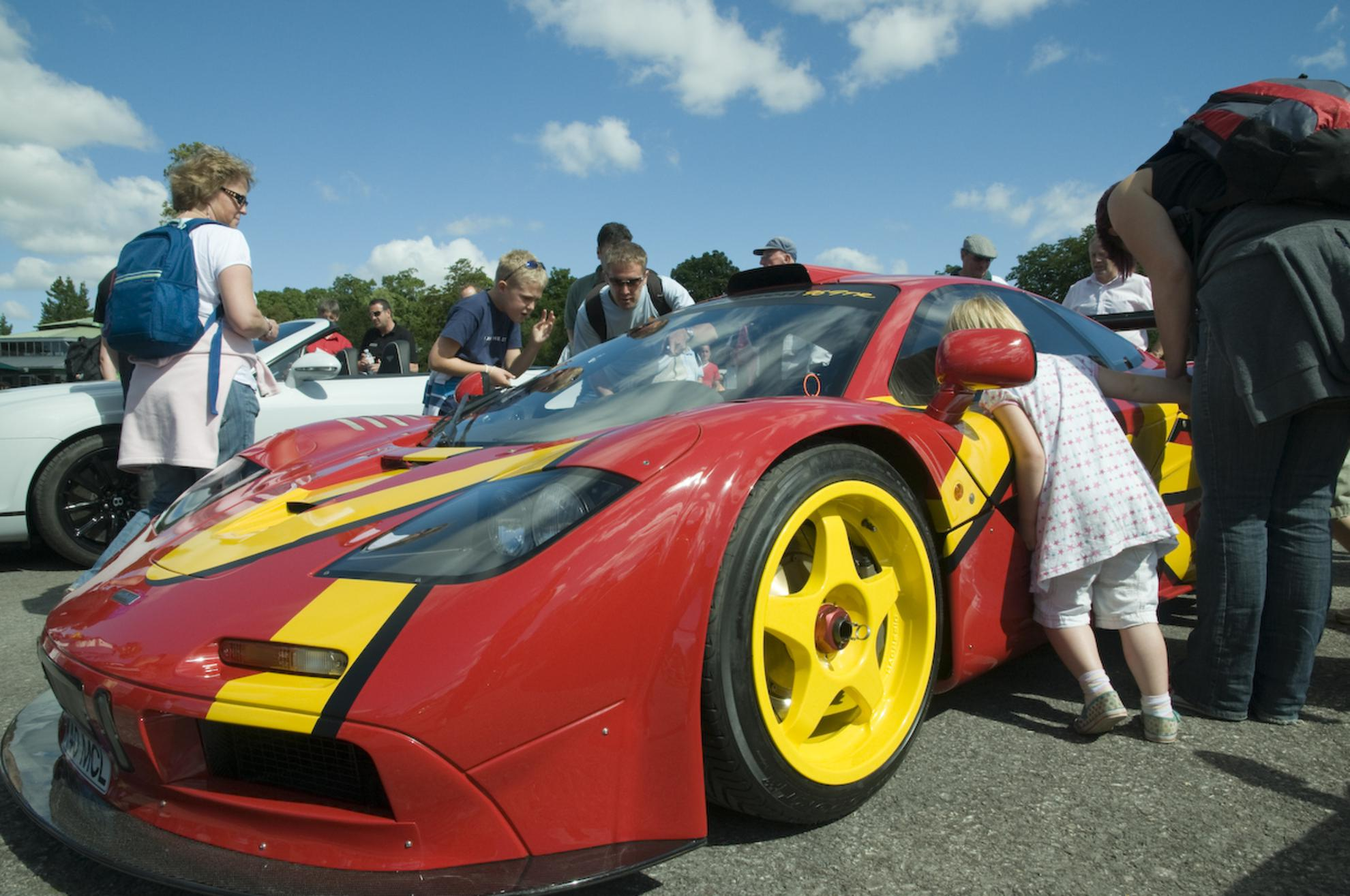 Looking at the supercars