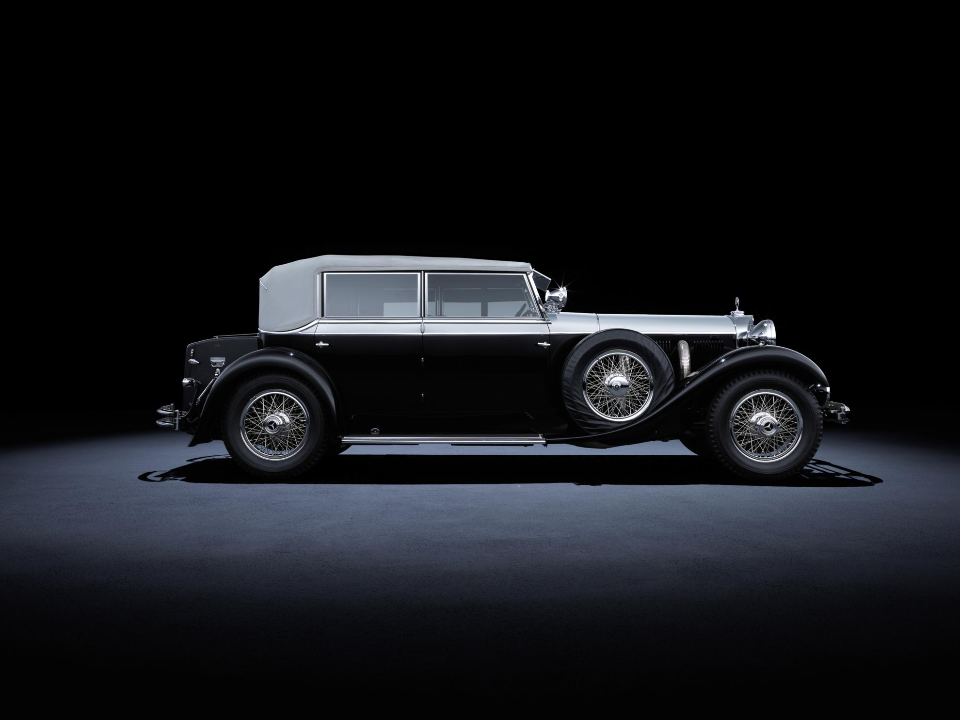 Mercedes benz heritage the highlights of the s class and for Mercedes benz car