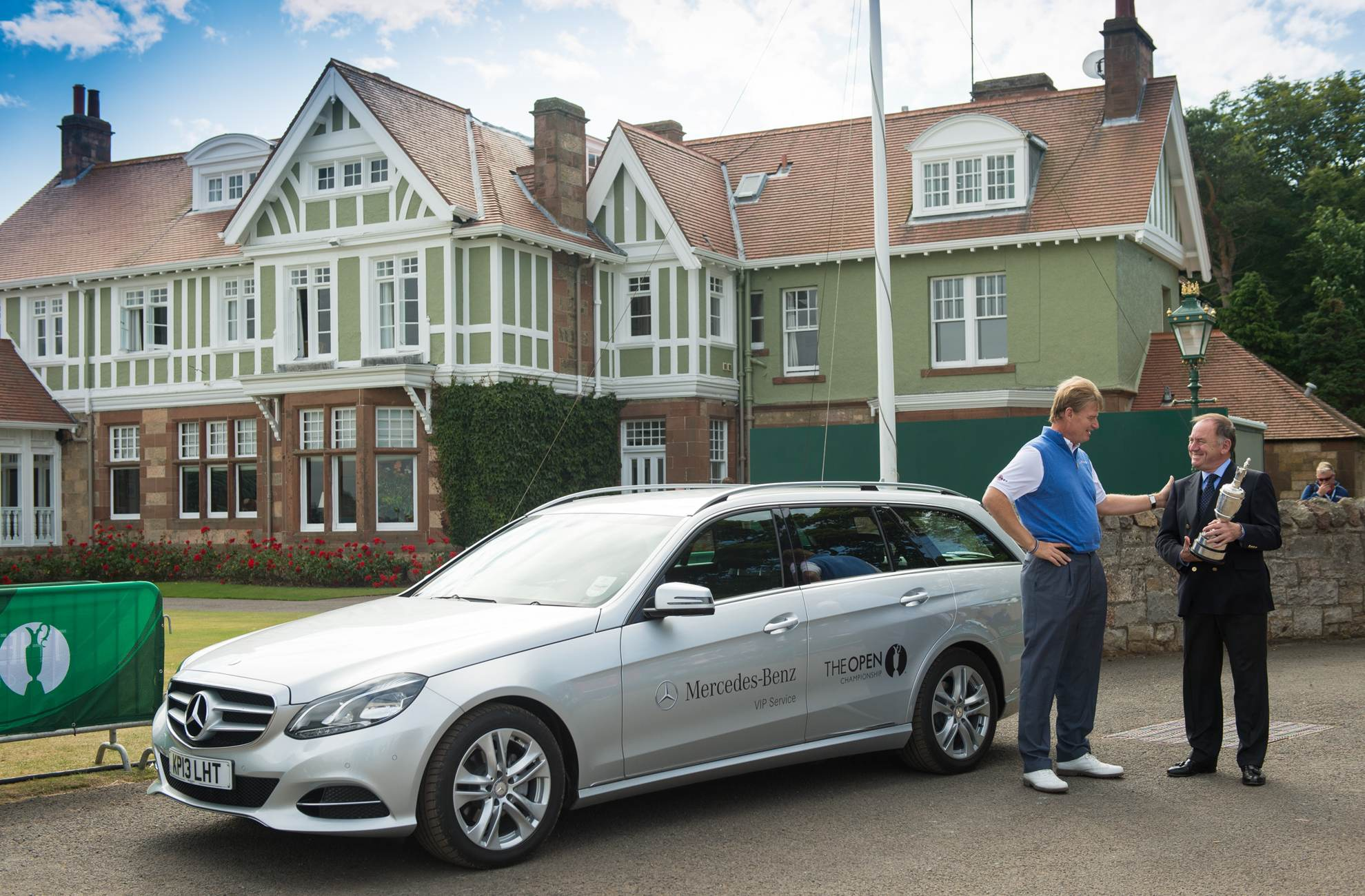 the origin of passionate golf mercedes benz and the open