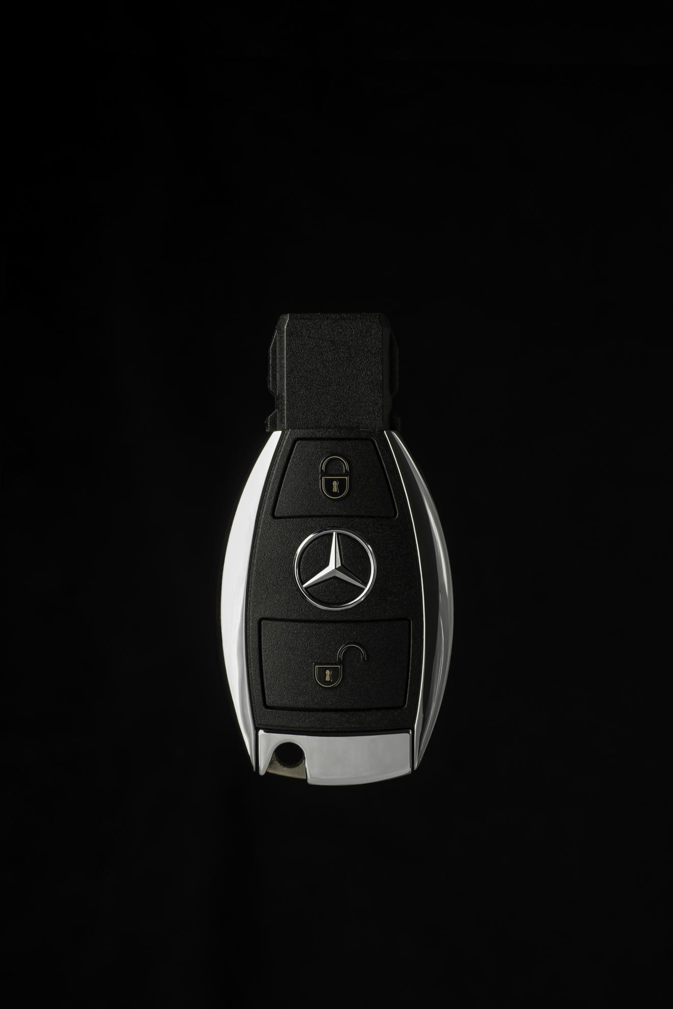 how to change a mercedez benz key