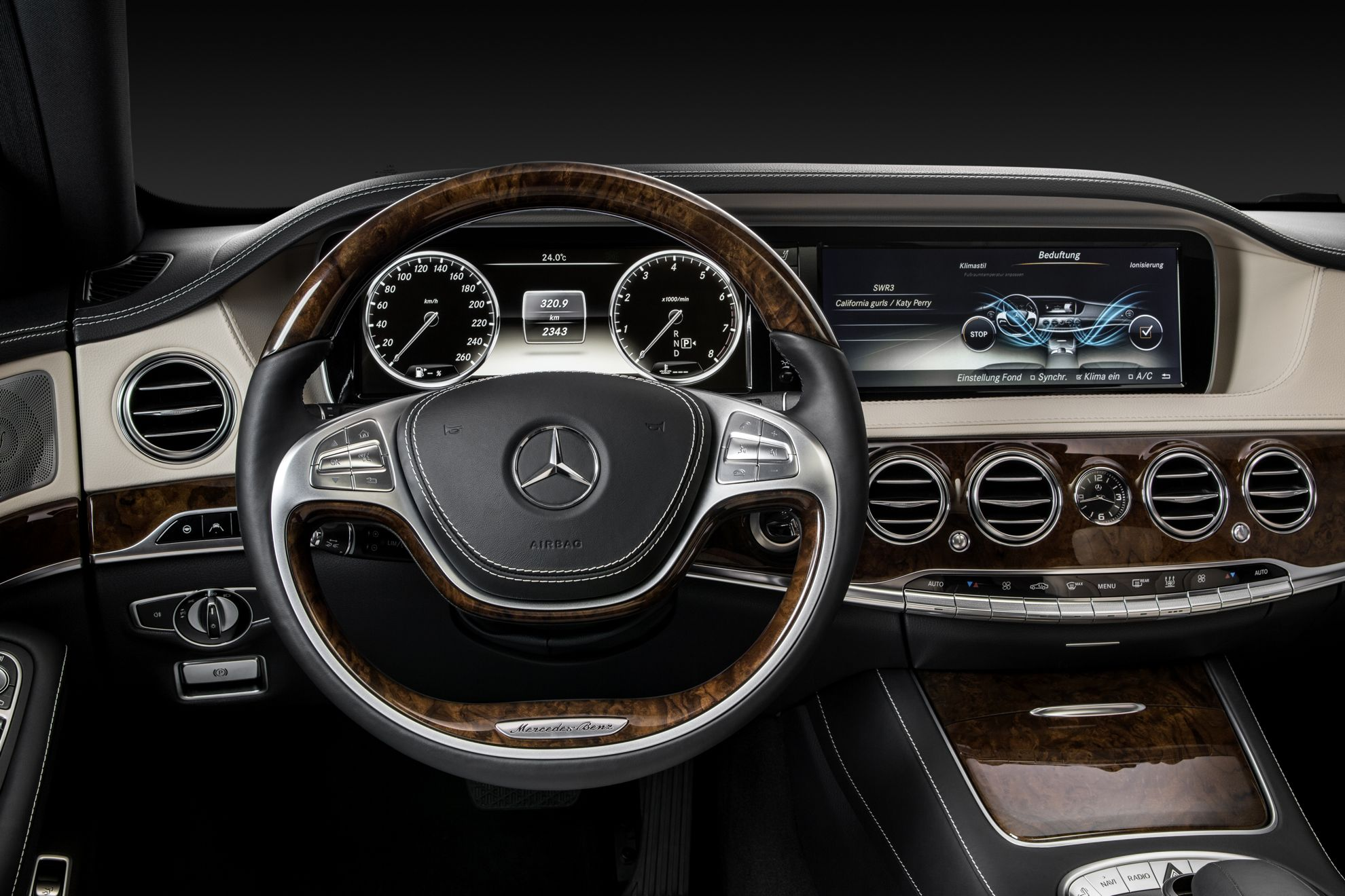 Mercedes-Benz S Class Display