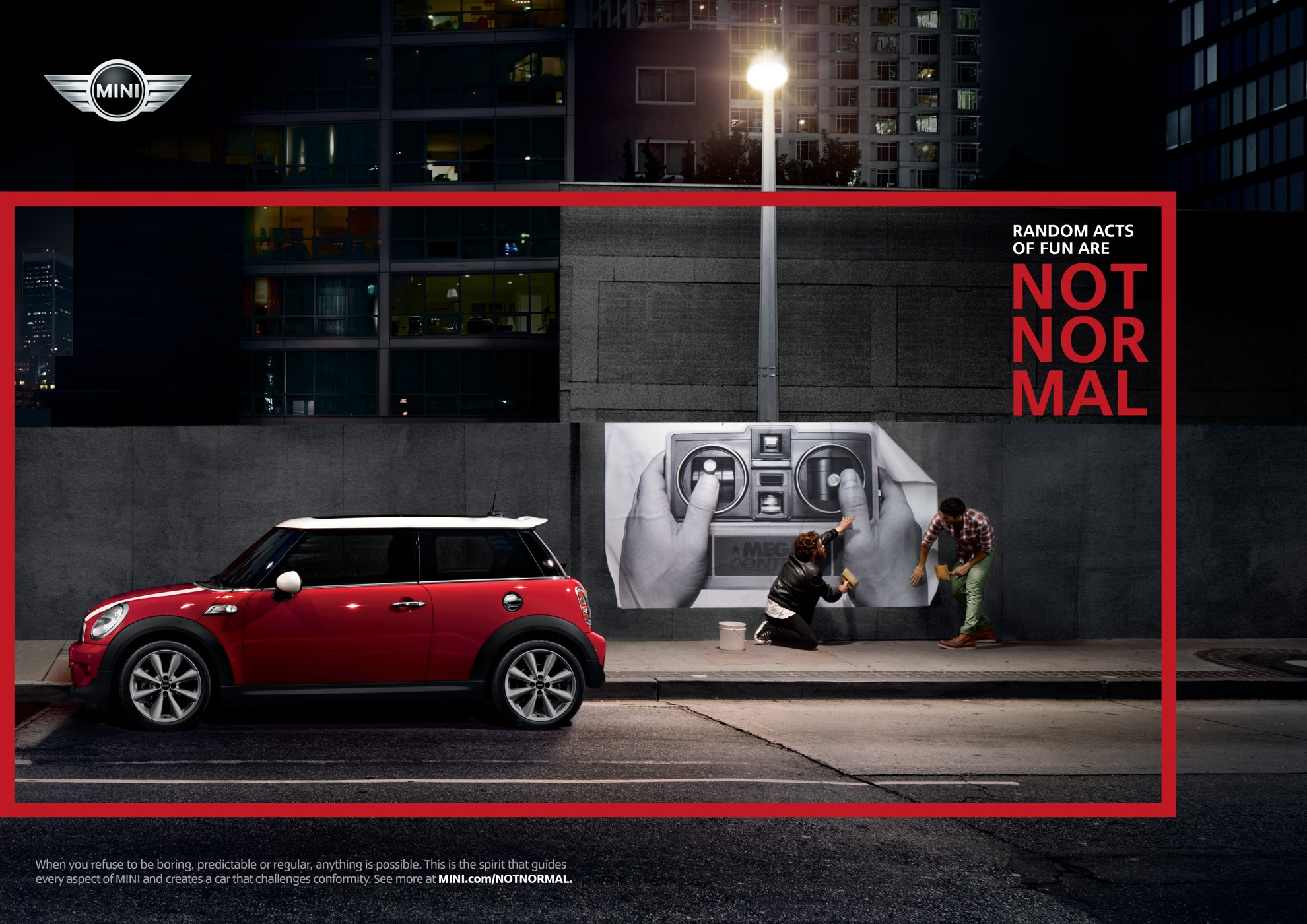 Not Normal Mini Brand Campaign