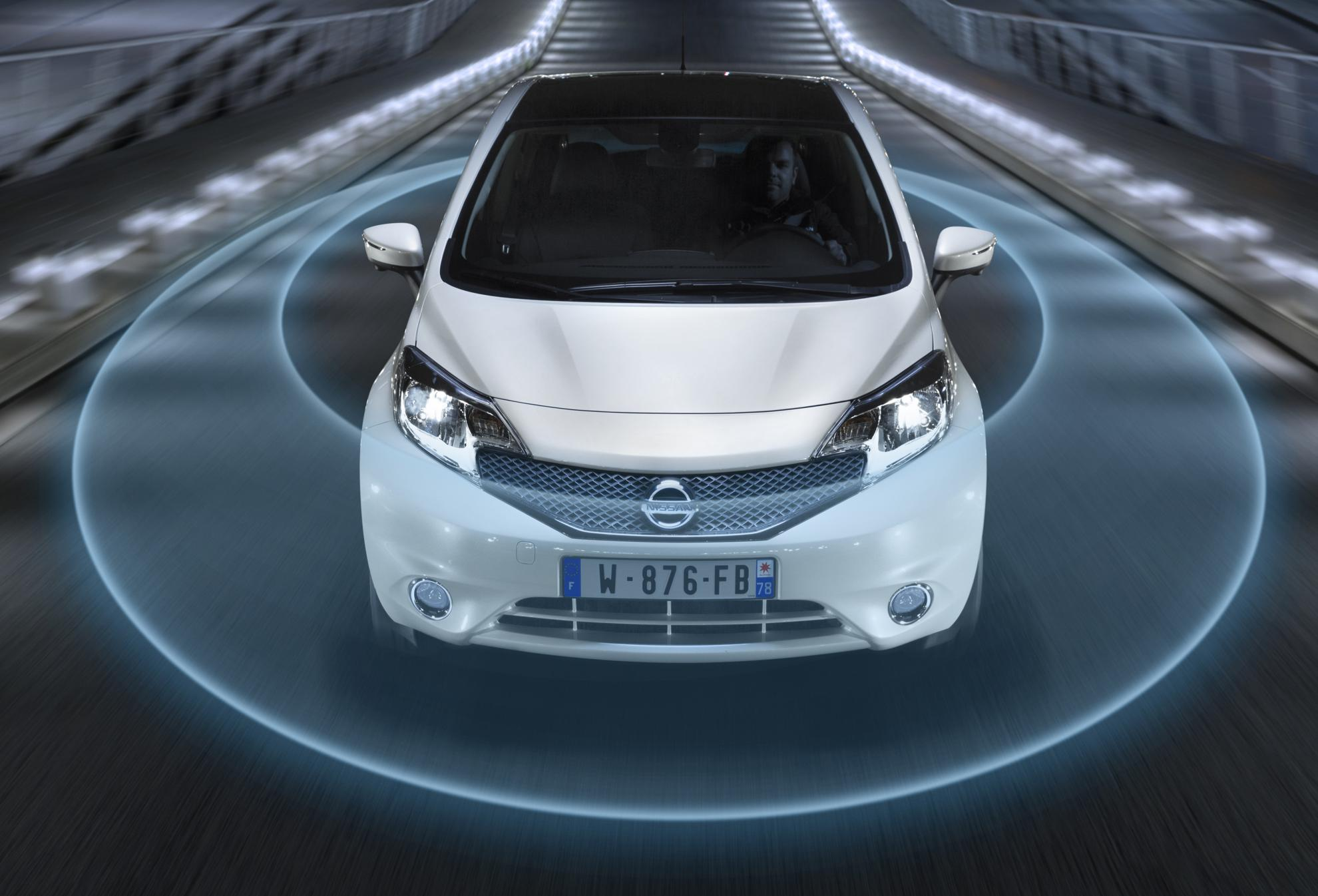 Nissan Safety Shield Breakthrough Technology For The B