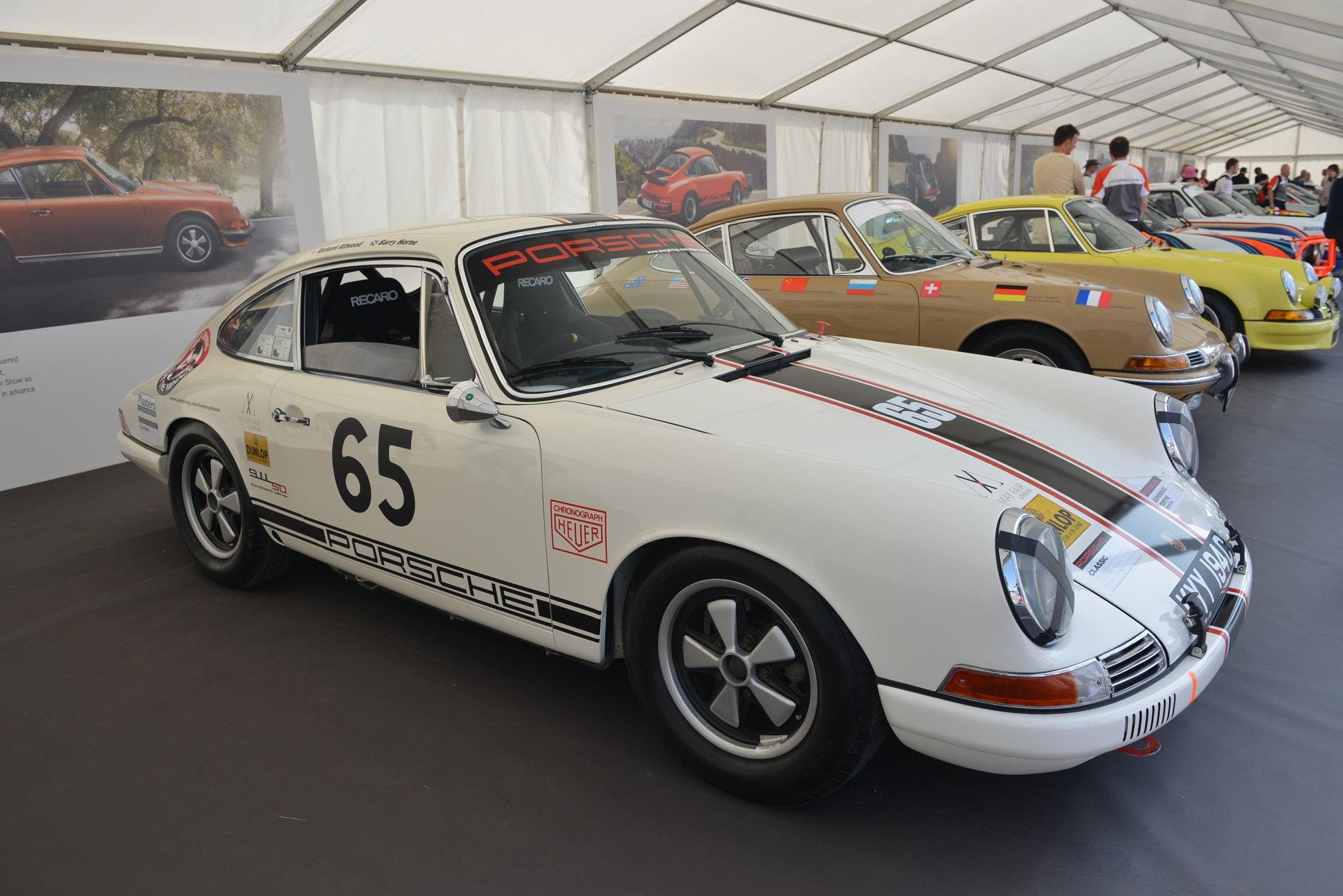 Porsche 911 Project 50 Festival of Speed