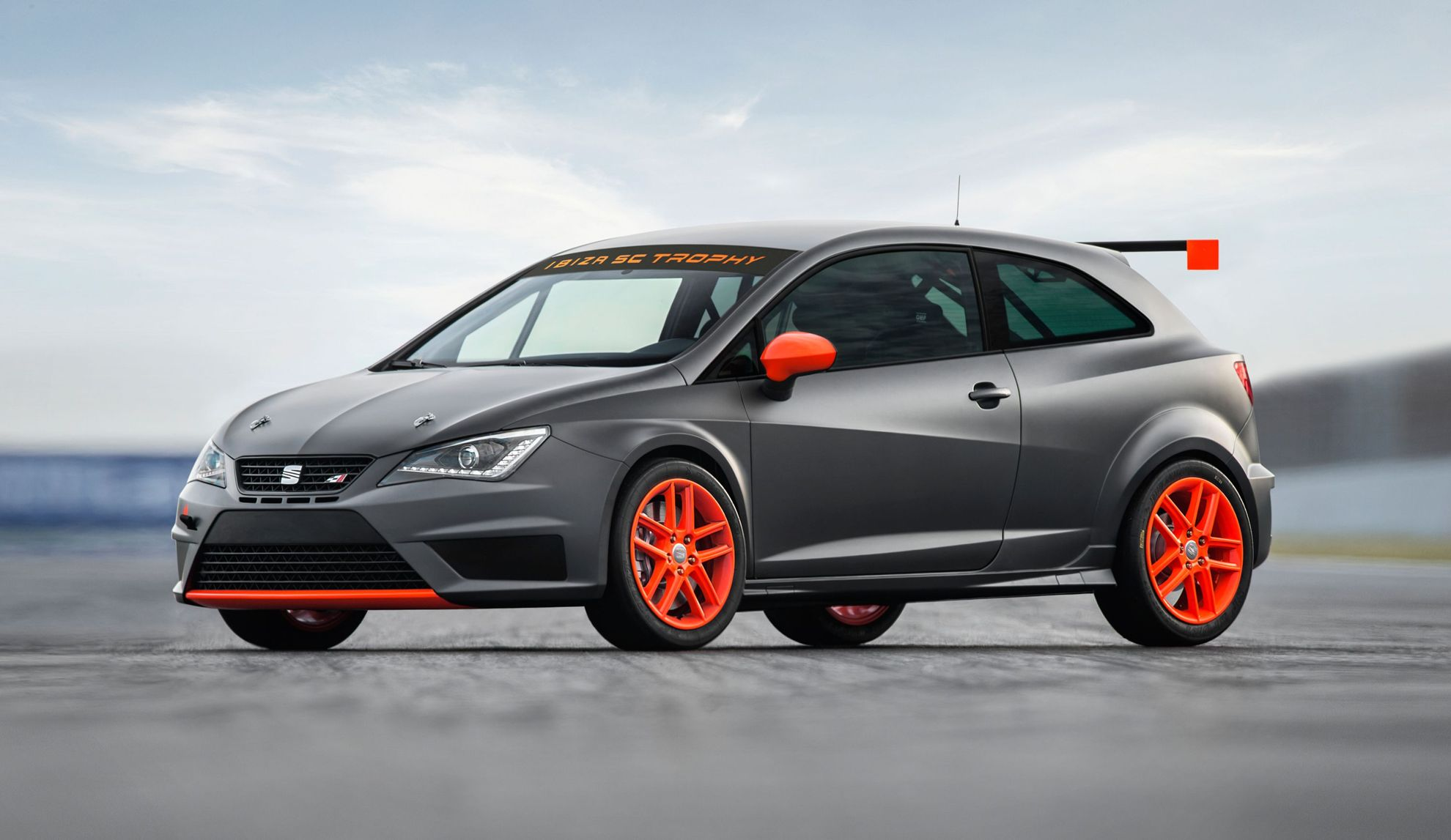 seat leon at the goodwood festival of speed. Black Bedroom Furniture Sets. Home Design Ideas