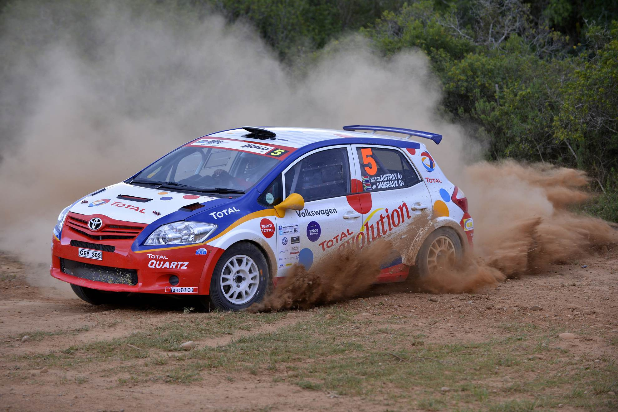 South African Rally 2013